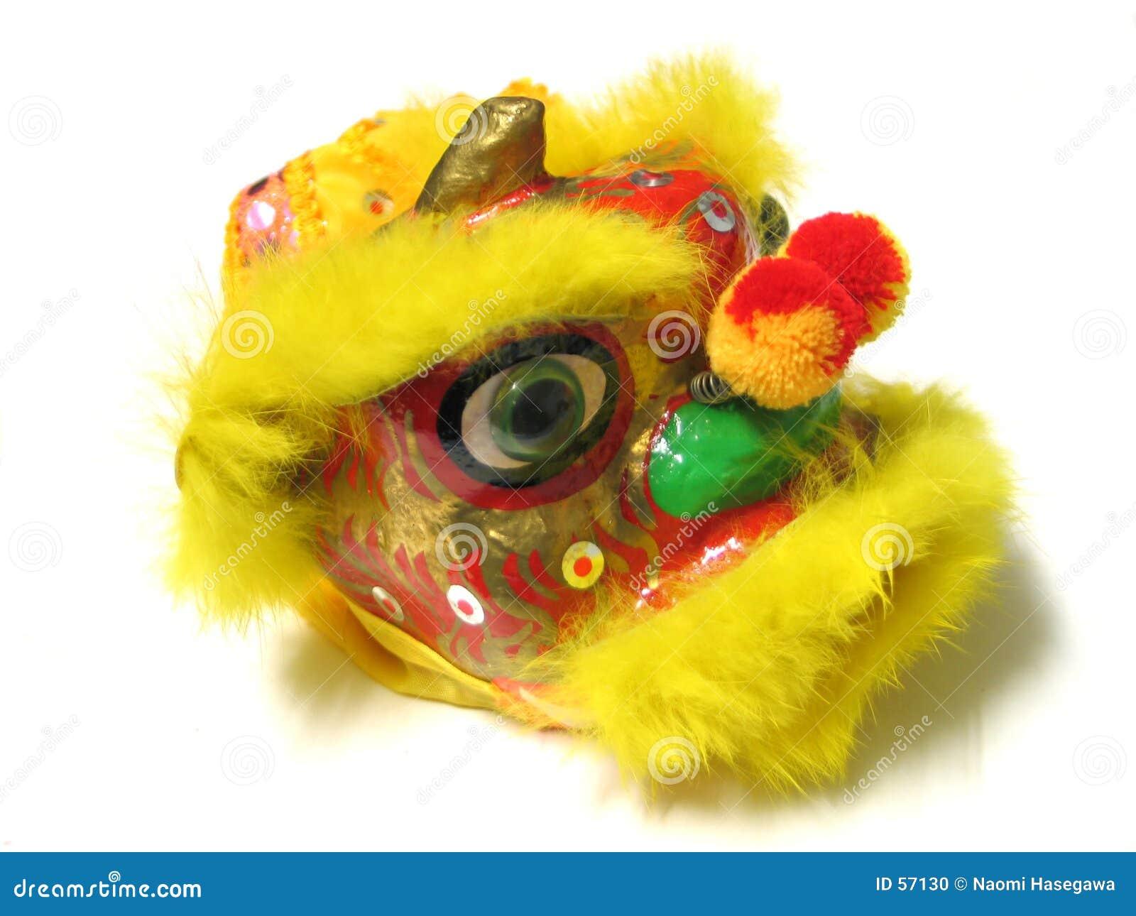 китайское Новый Год льва