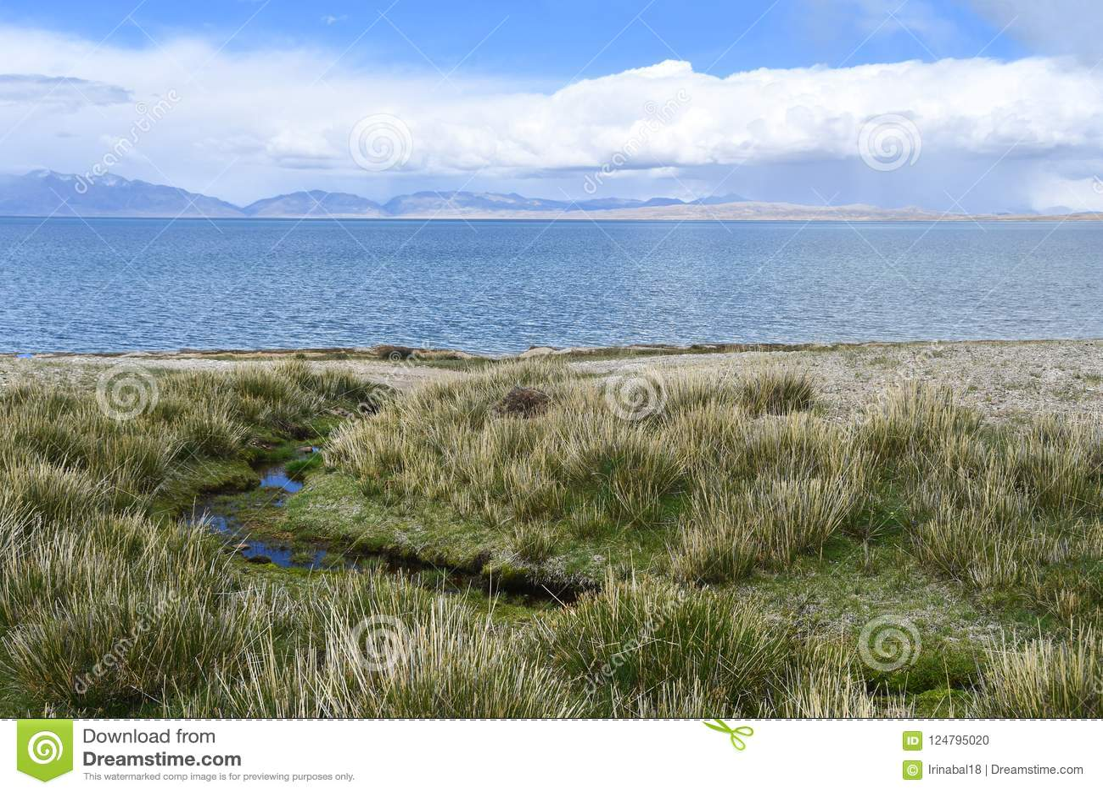 Китай, Тибет, святое озеро Manasarovar