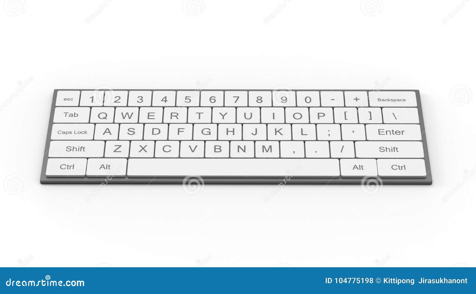 Клавиатура или кнопочная панель компьютера