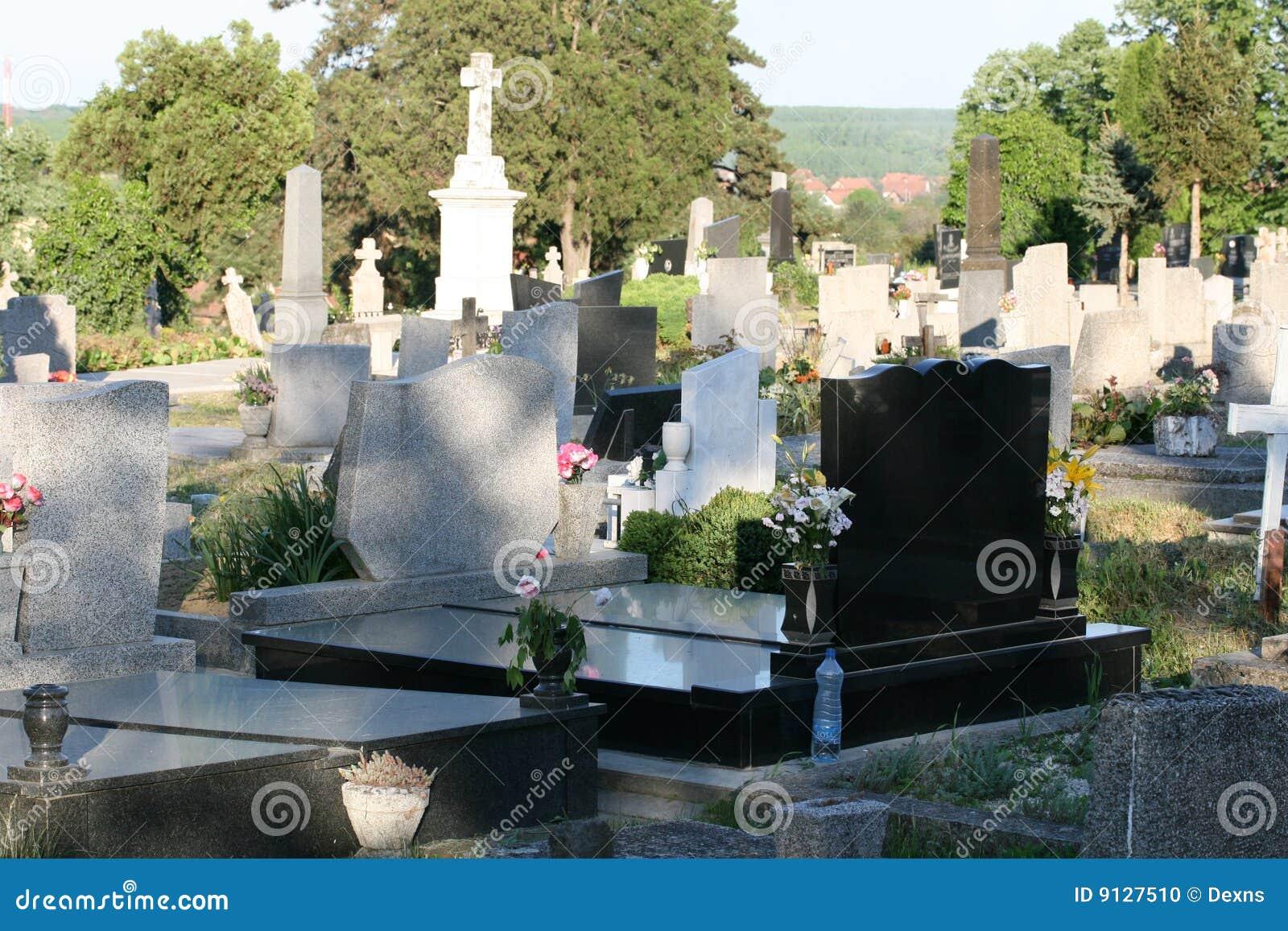 кладбище старое