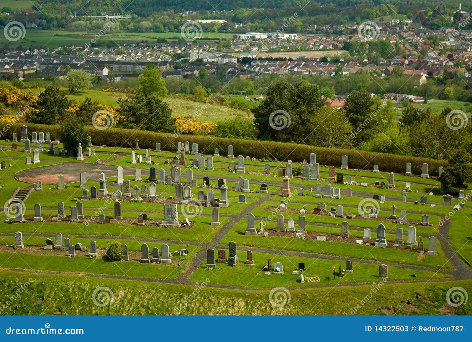 кладбище stirling