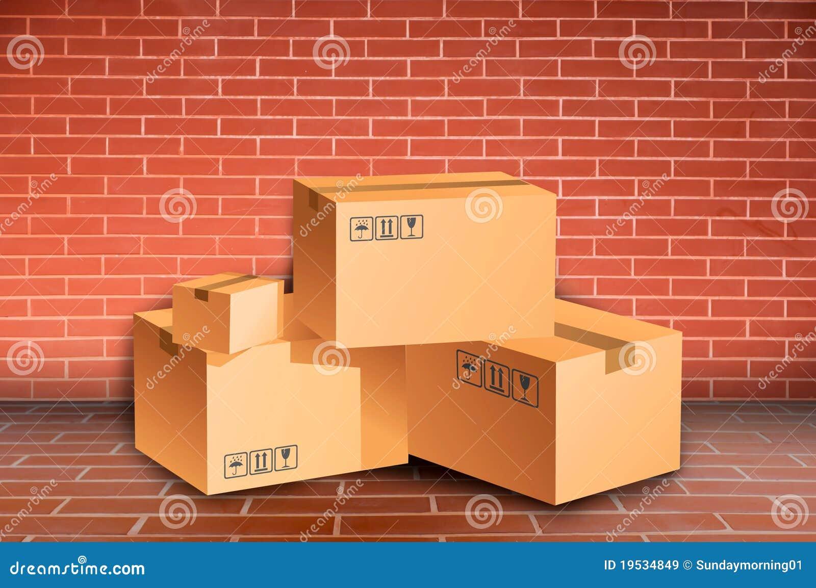 кладет кирпичную стену в коробку