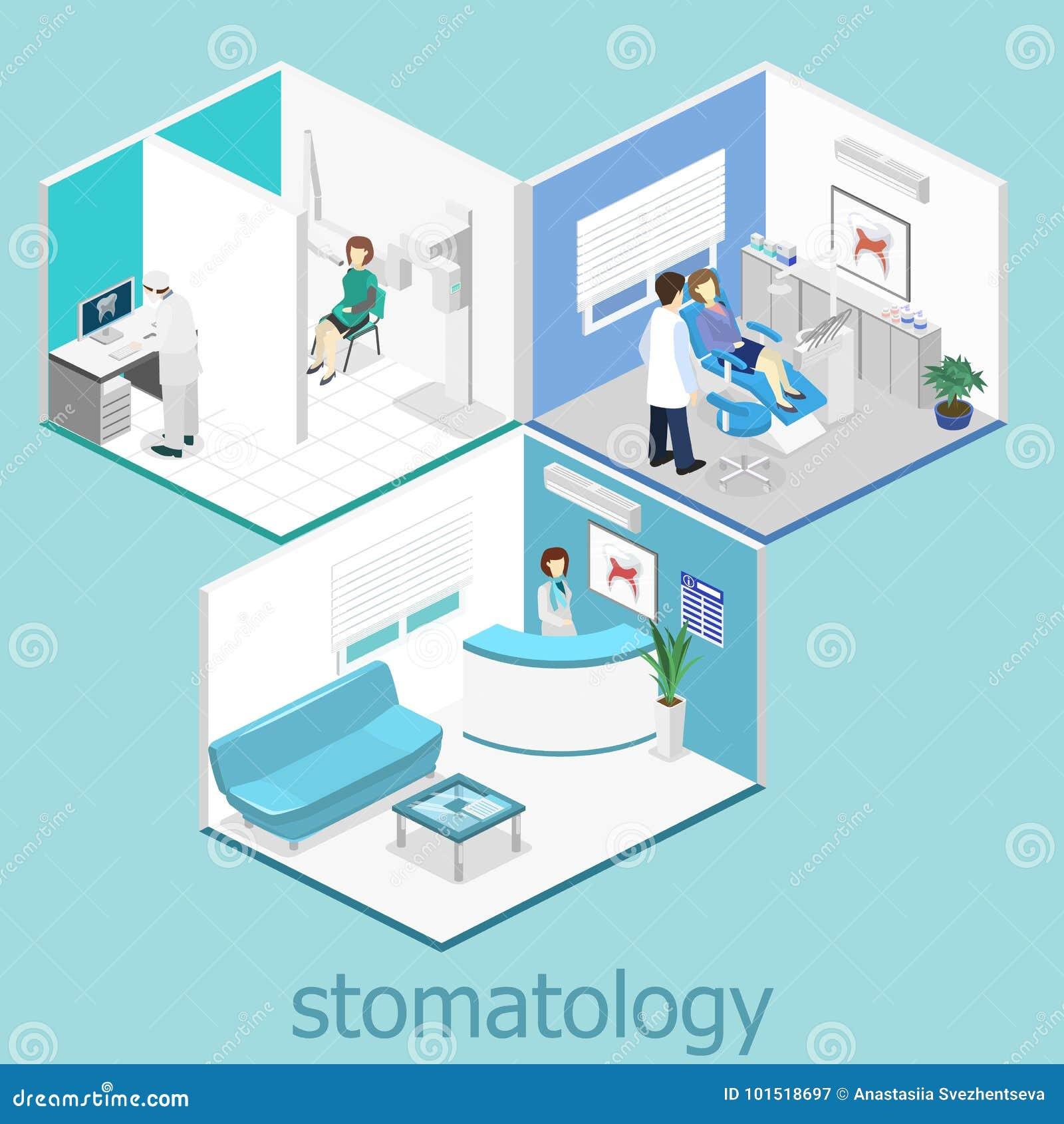 клиника зубоврачебная плоско внутренний офиса ` s дантиста
