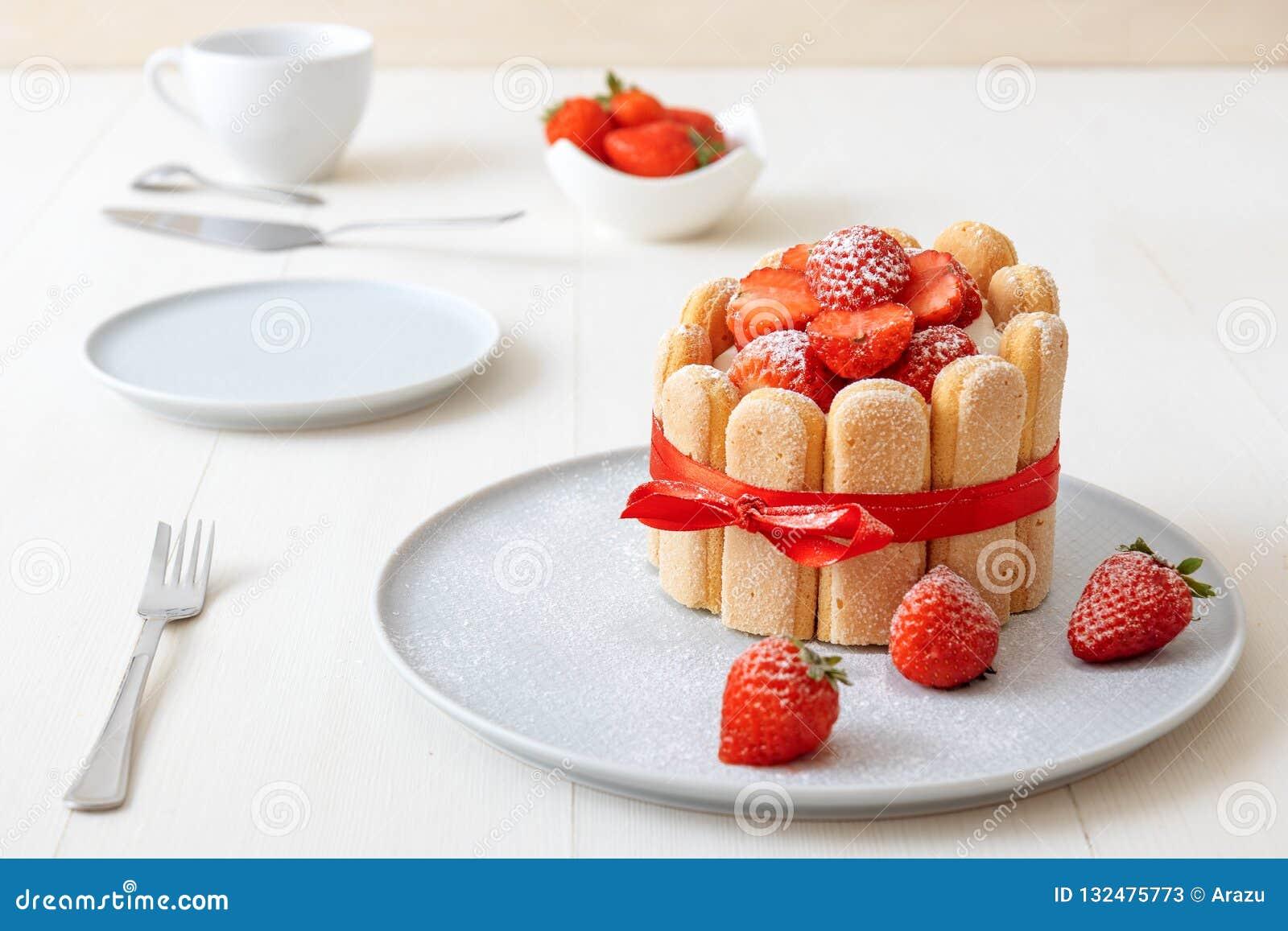 Десерт из клубники по французский — photo 6