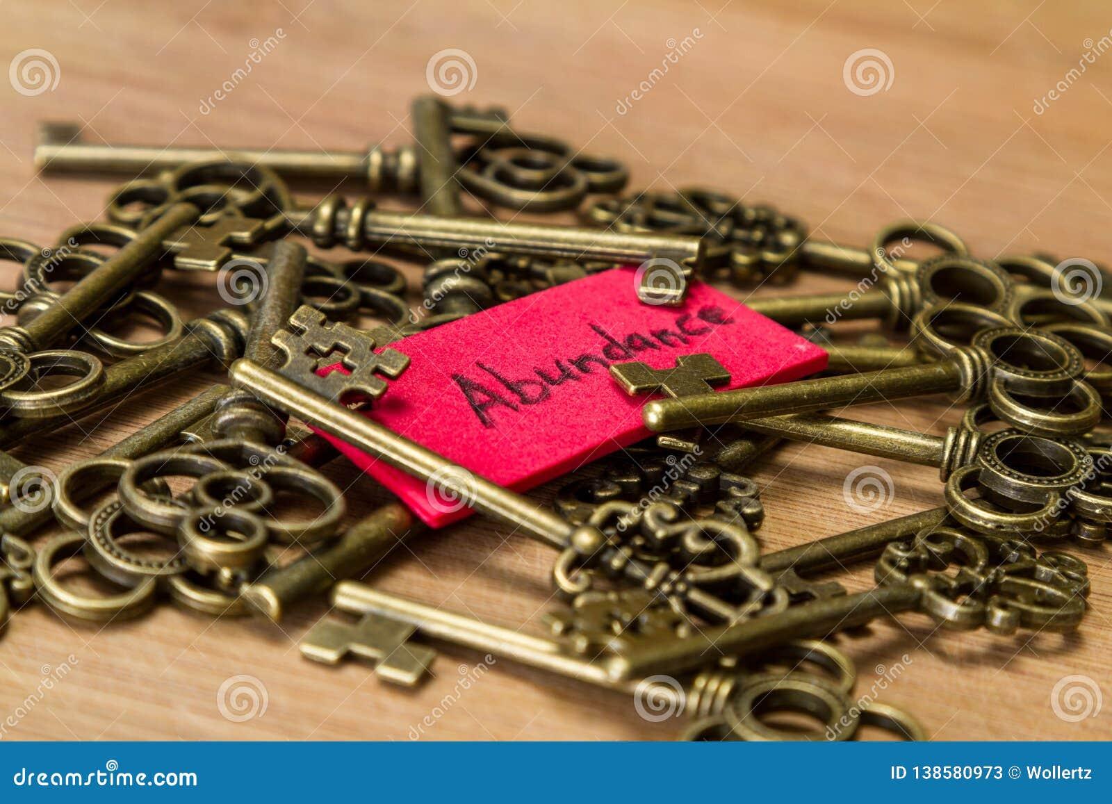 Ключи к обилию