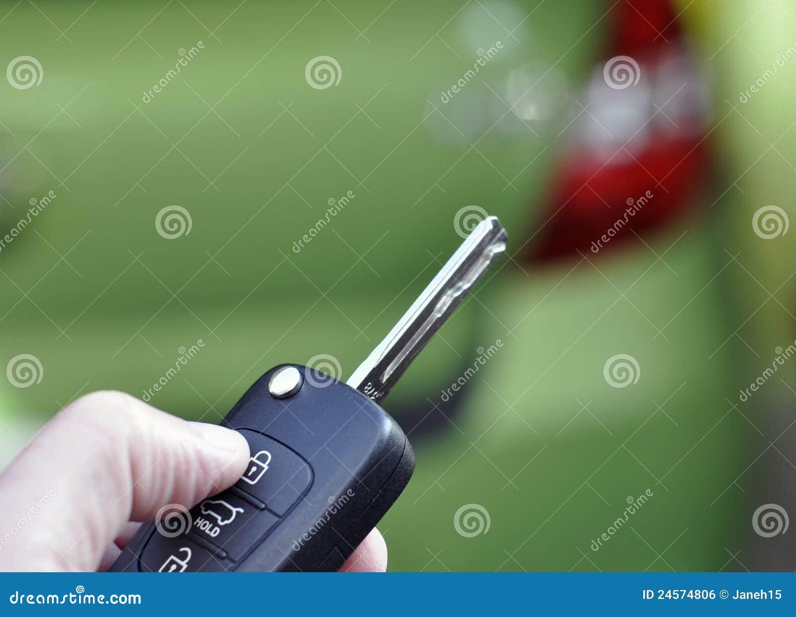 Ключ автомобиля дистанционного управления