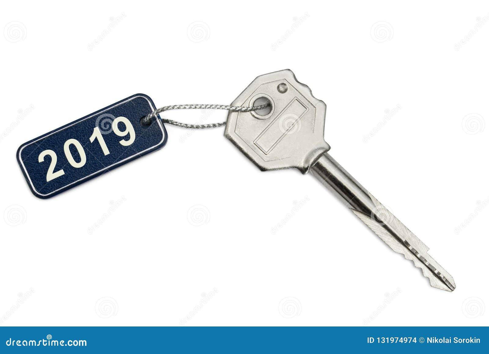 Ключ с биркой 2019