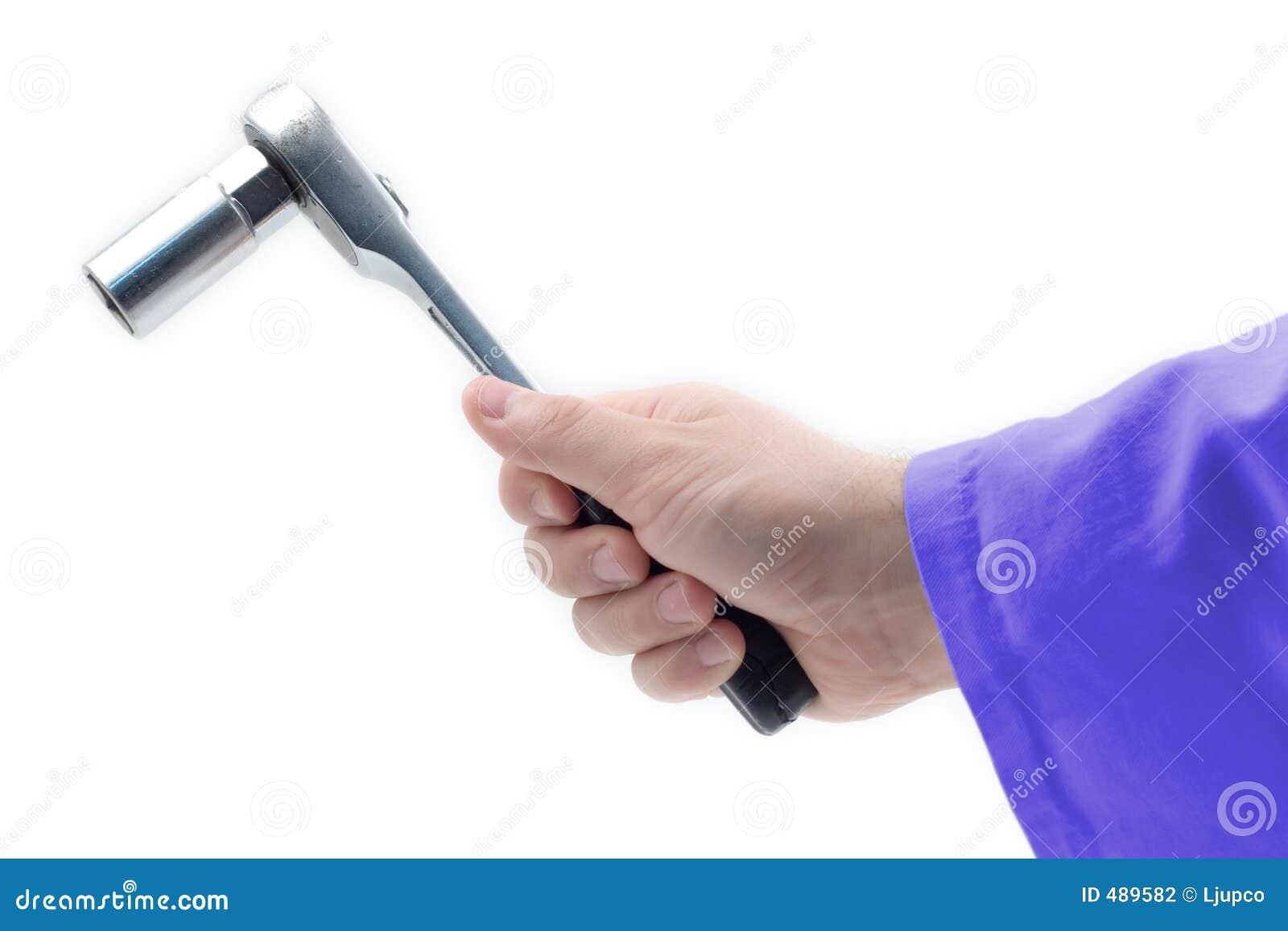 ключ удерживания руки