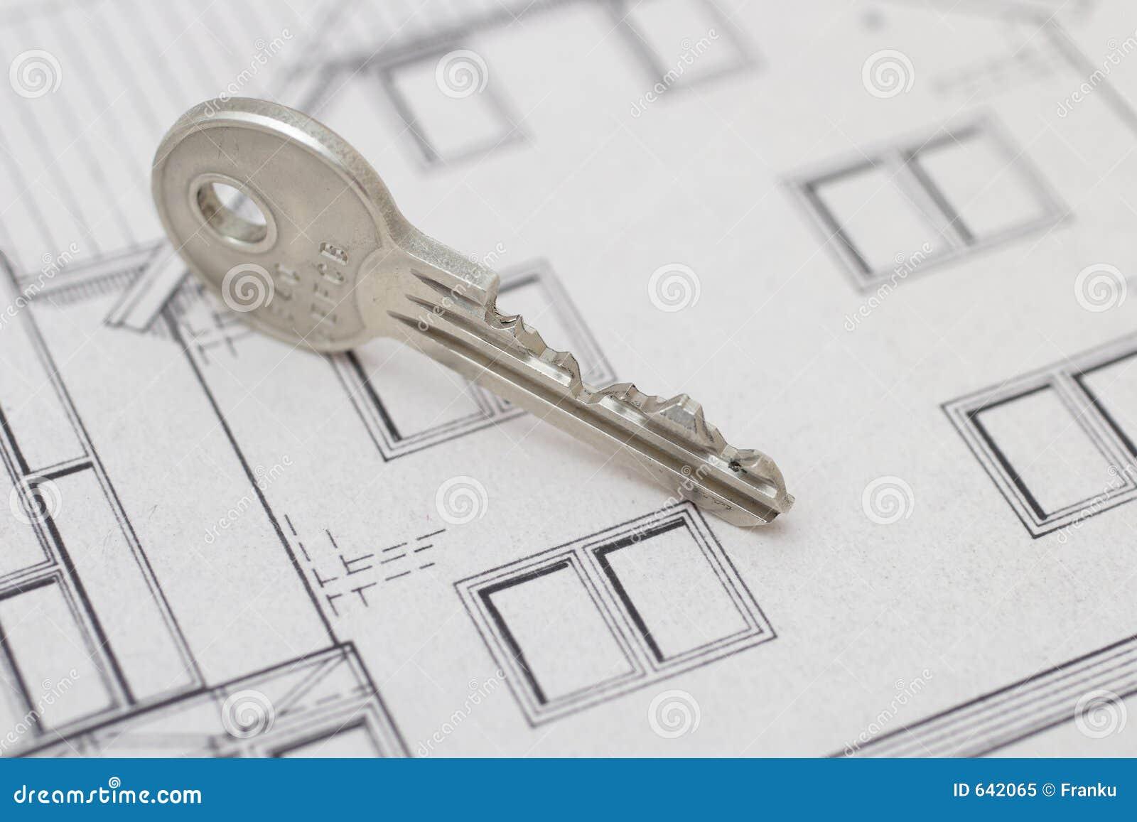 Download ключ стоковое изображение. изображение насчитывающей открыто - 642065