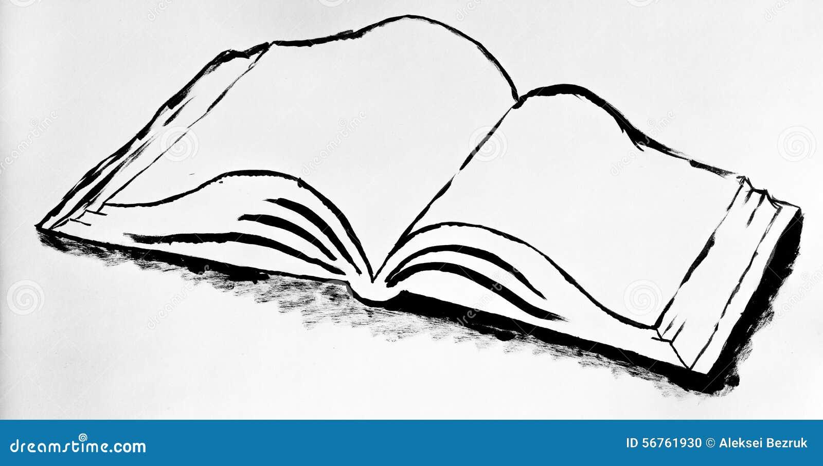 Книга нарисованная фото