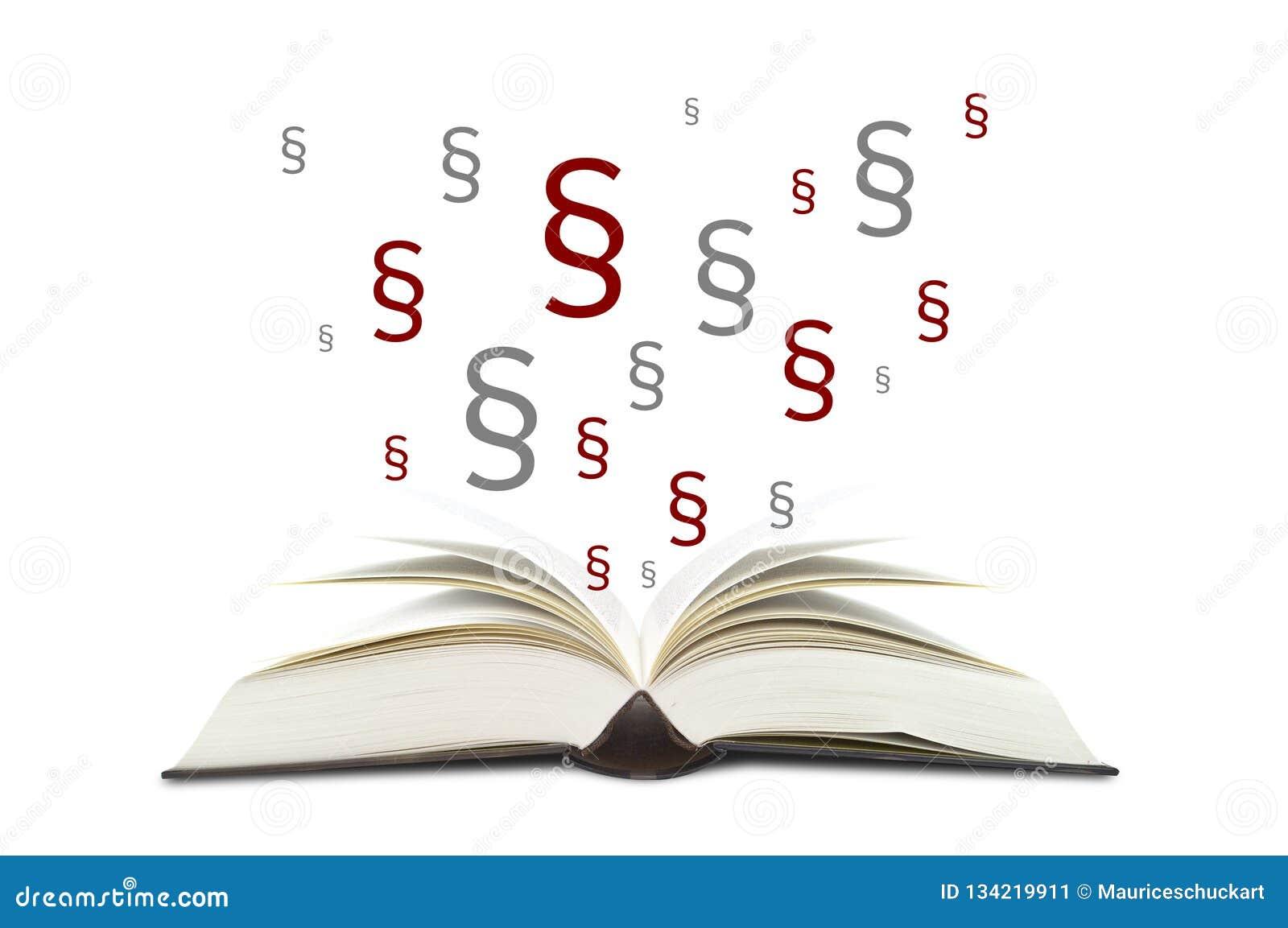 Книги с параграфами