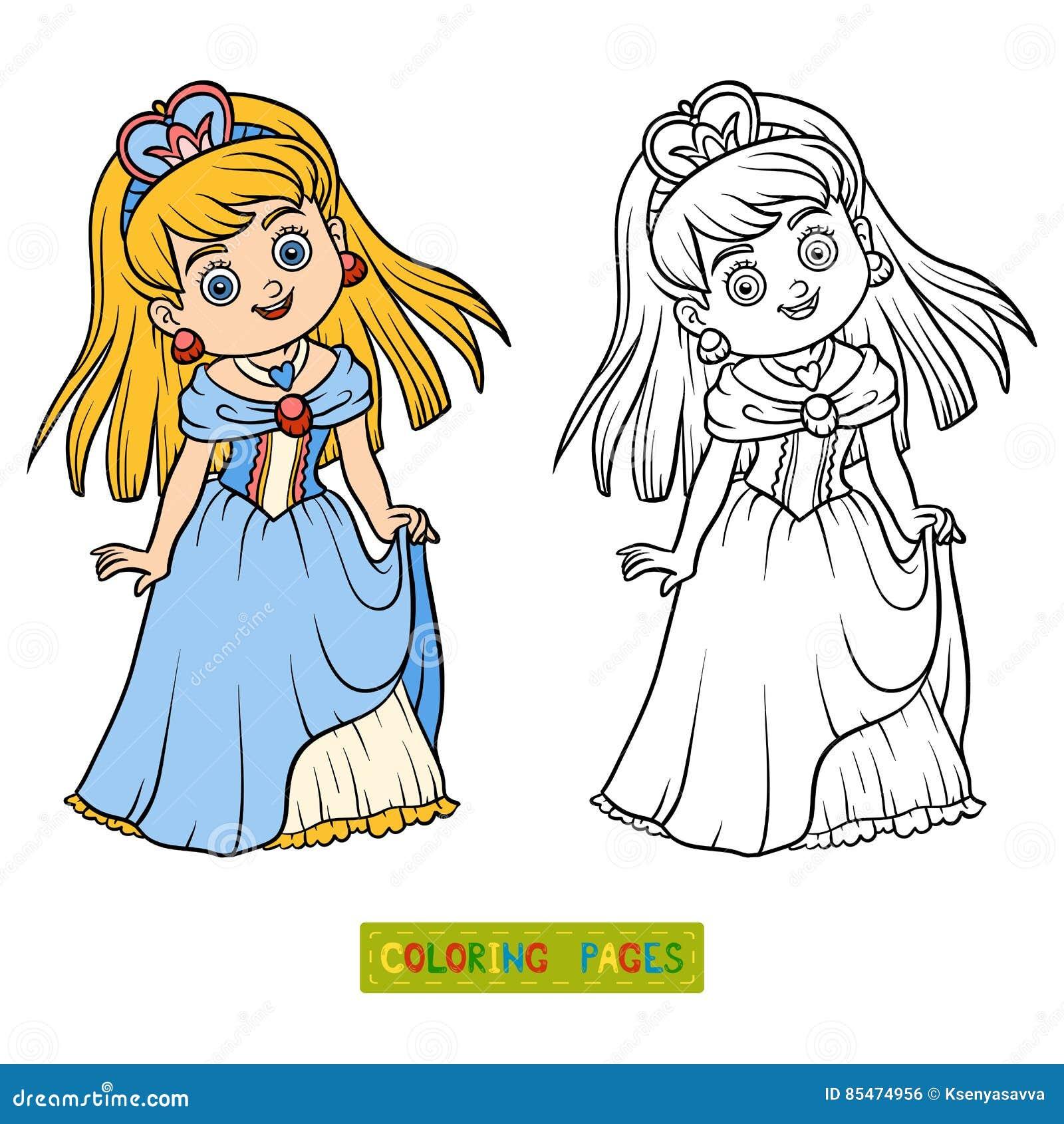 Книжка-раскраска, персонаж из мультфильма, принцесса ...