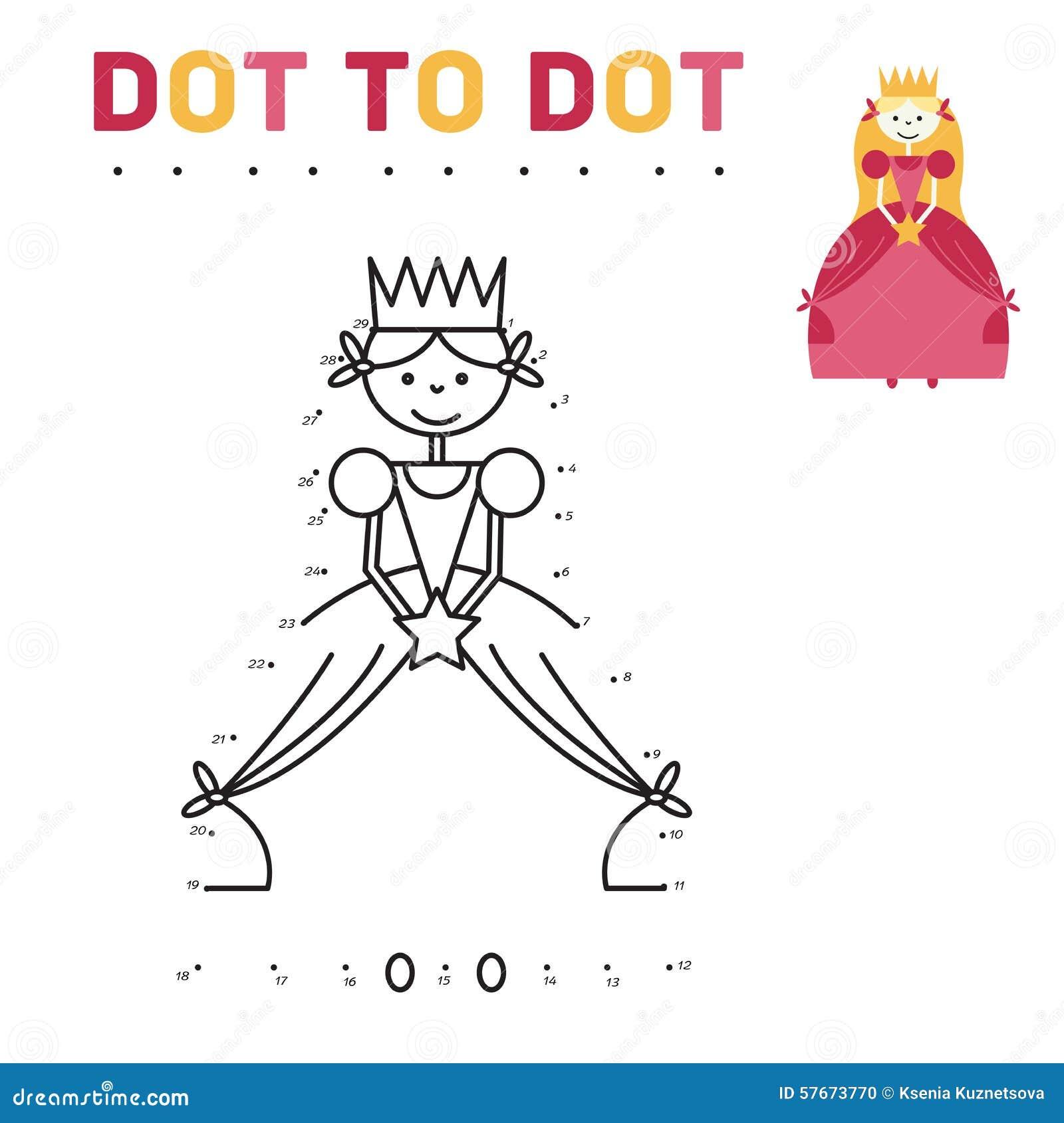 книжка раскраска для принцессы девушек игра соединяет