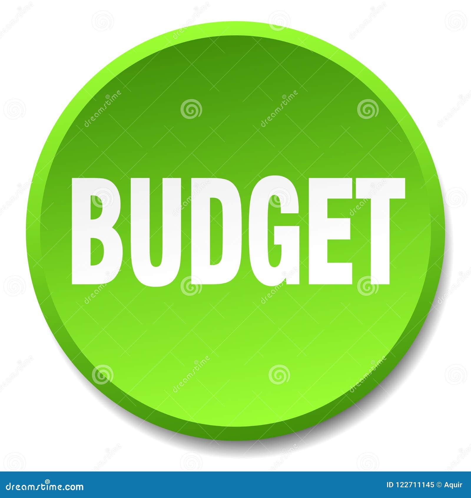 кнопка бюджета