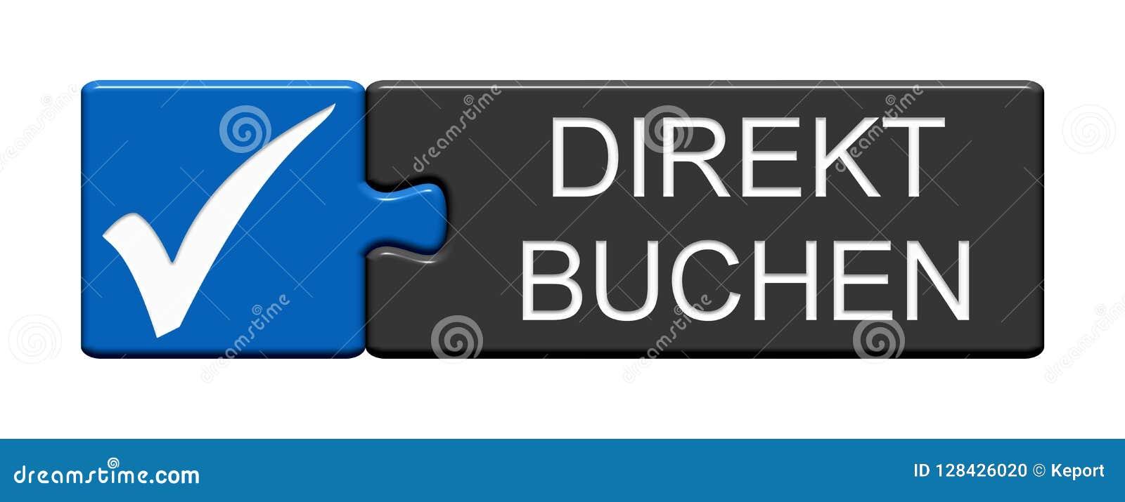 Кнопка головоломки: Сразу записывая немец
