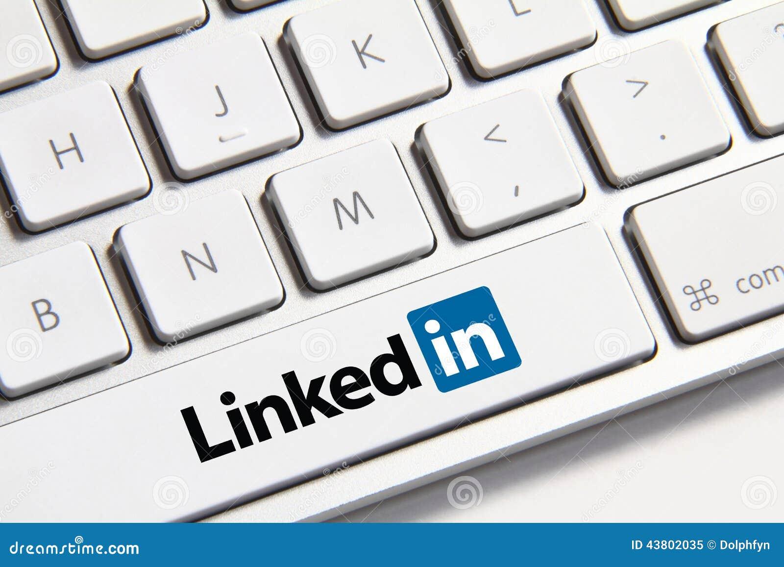 Кнопка Linkedin