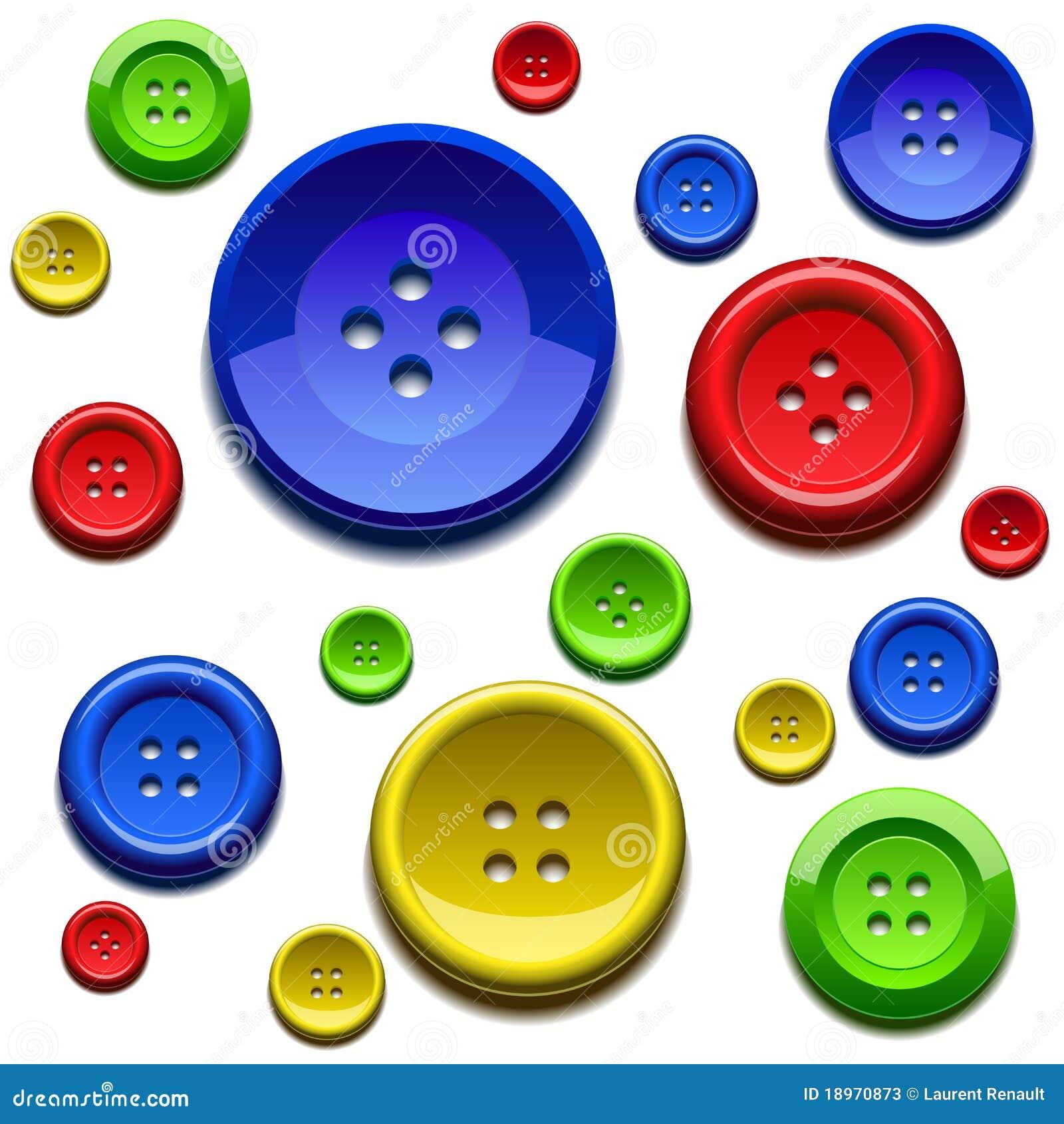 кнопки красят шить