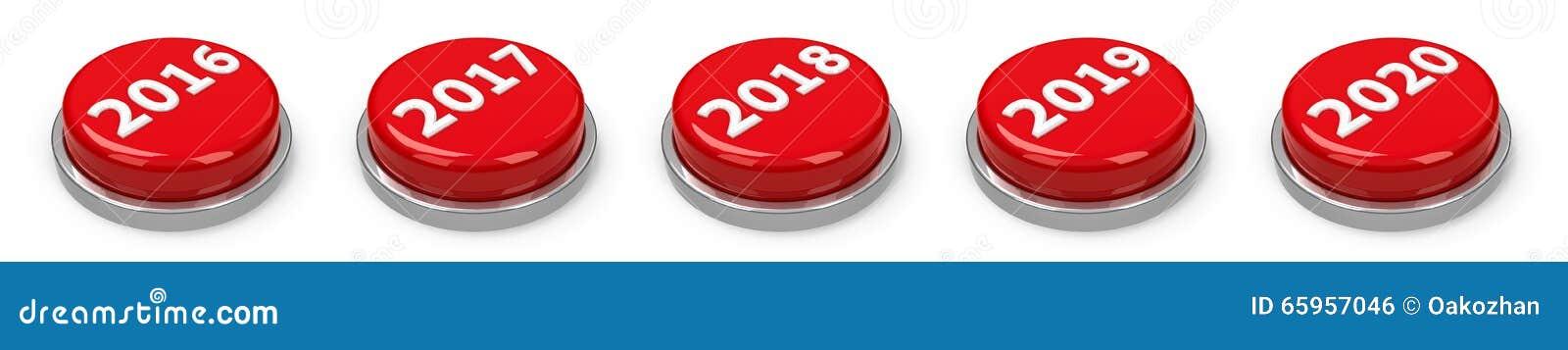 Кнопки - 2016 2017 2018 2019 2020