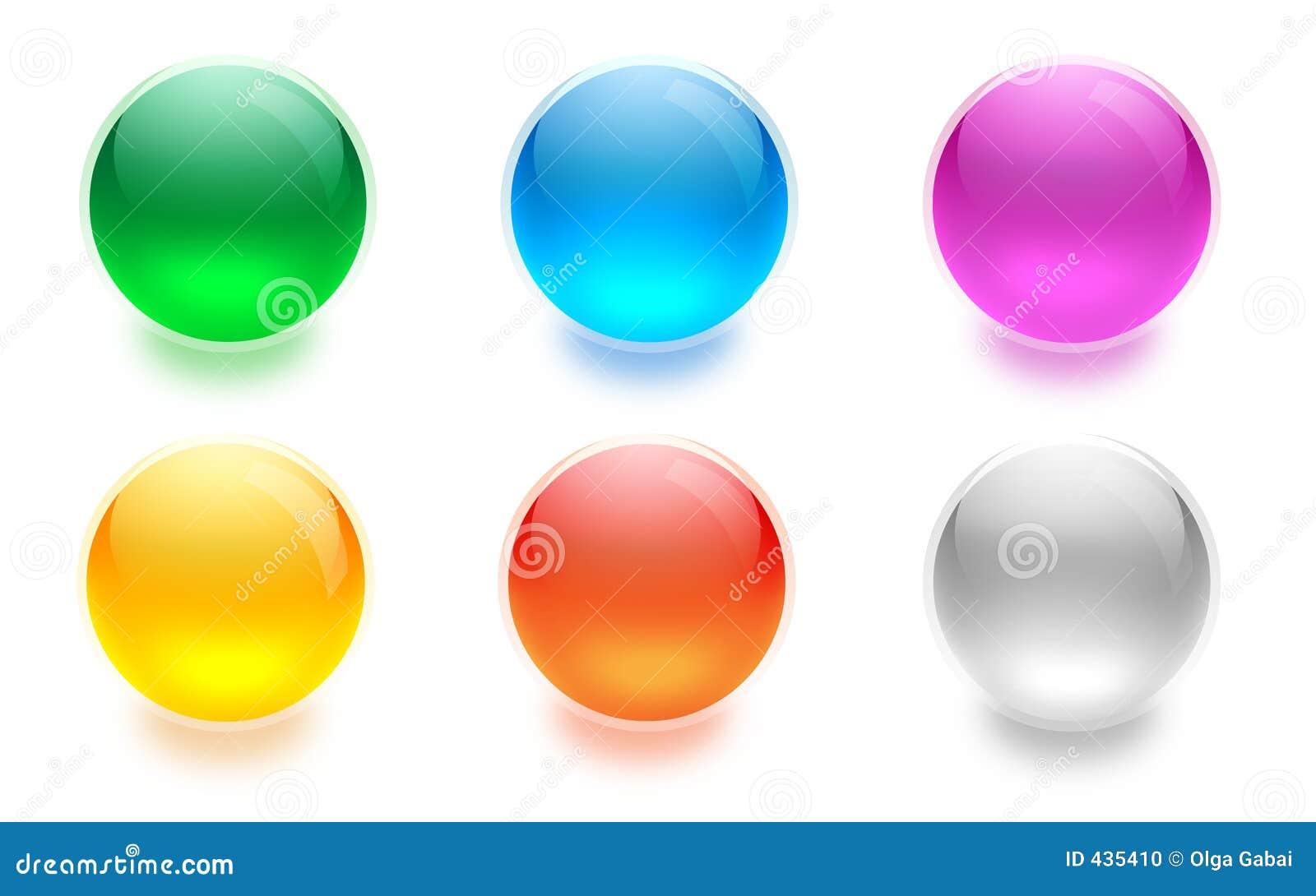 кнопки aqua