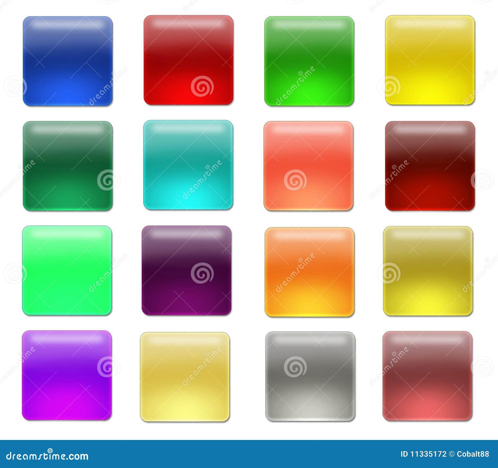 кнопки blanc aqua