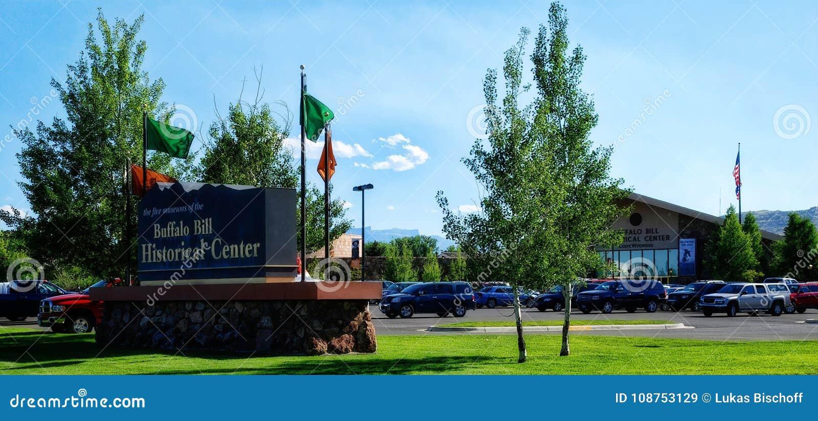 Коди, США - 10th из июля 2010: Центр Buffolo Билла исторический