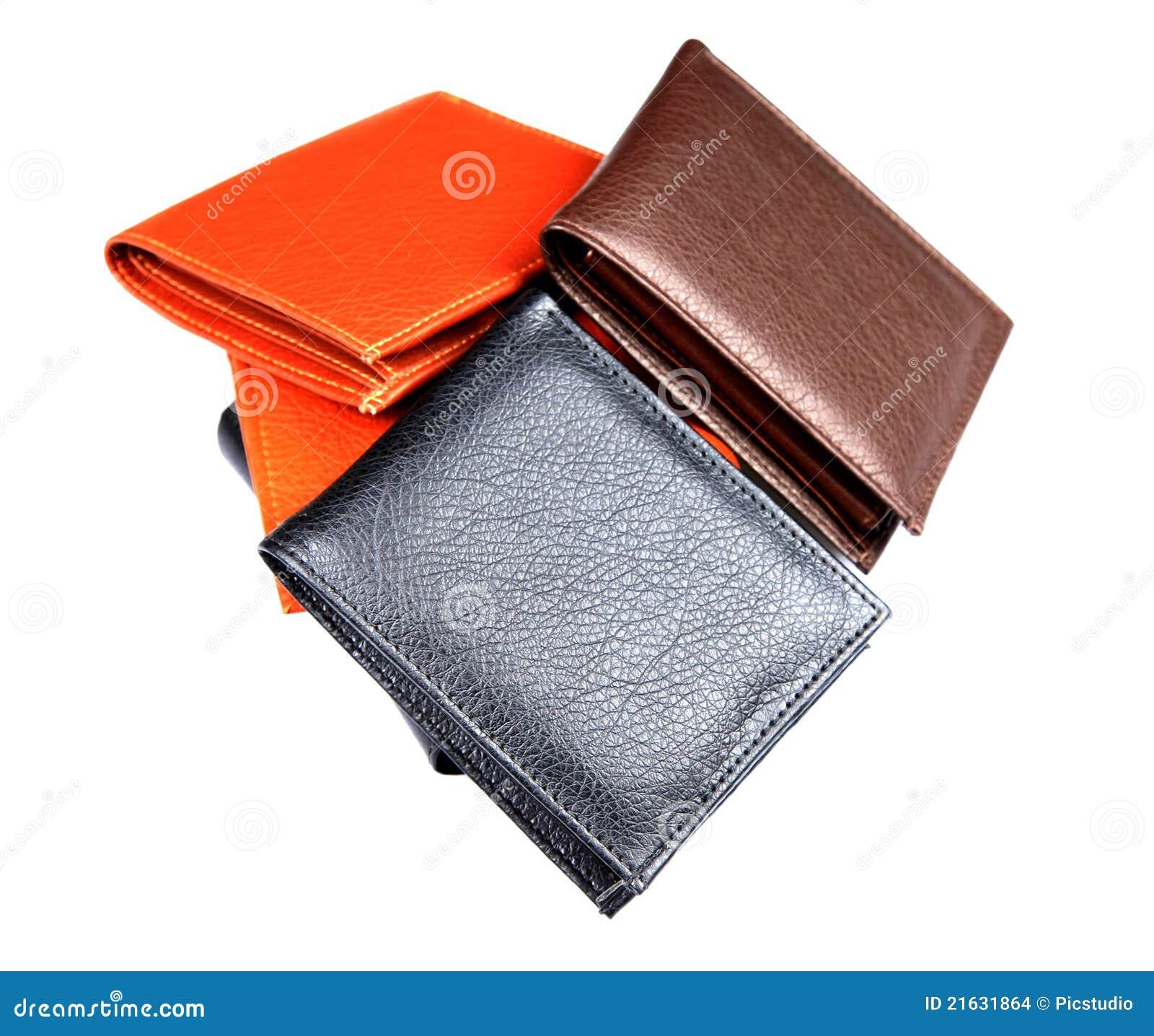 кожаные бумажники
