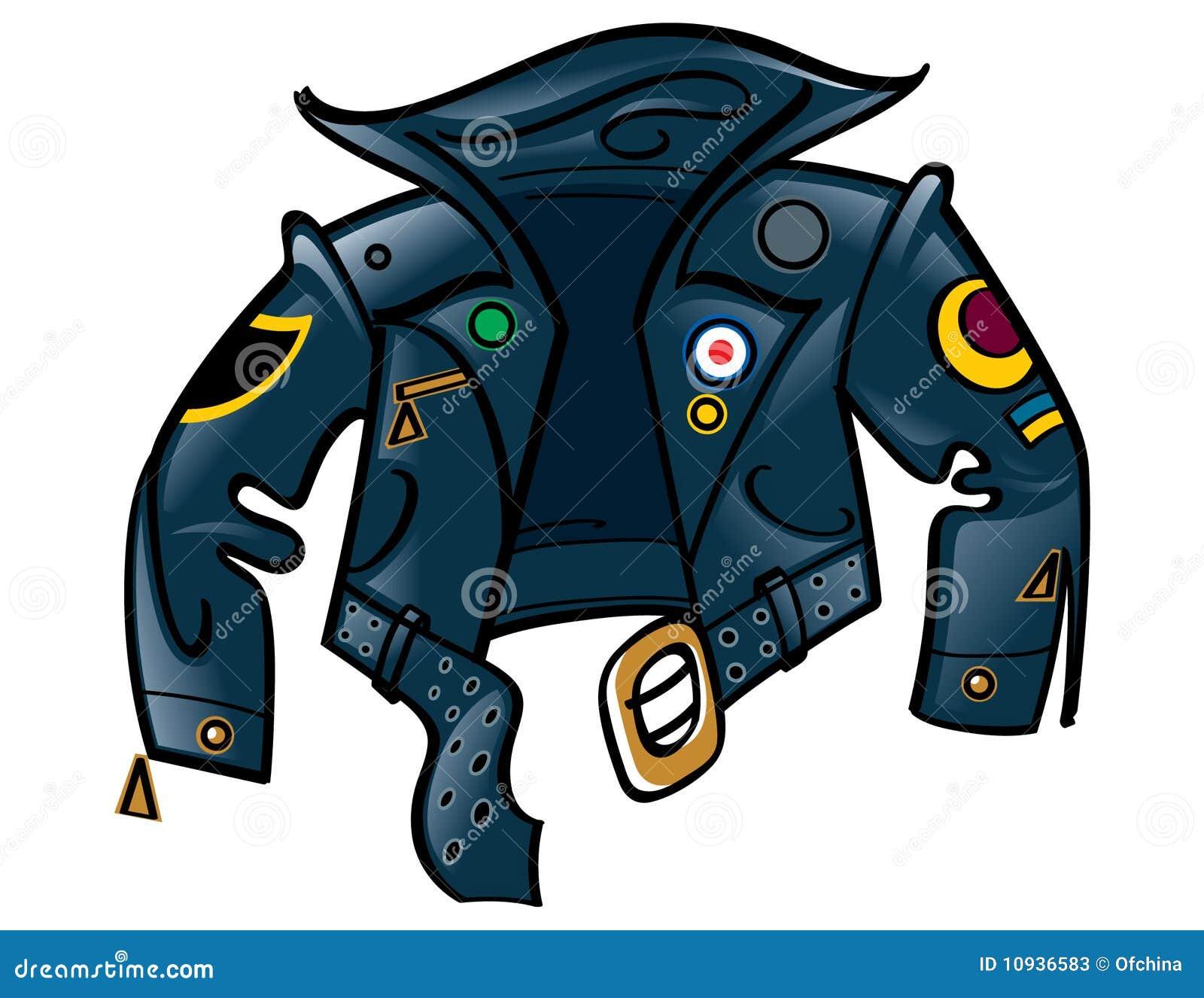 кожа куртки