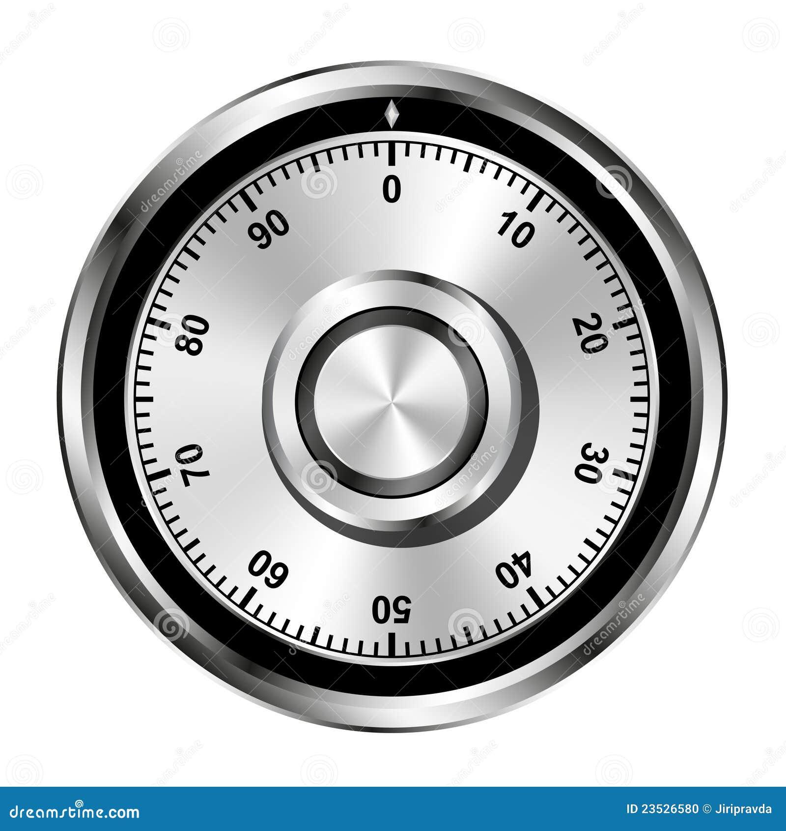 колесо замка комбинации реалистическое безопасное