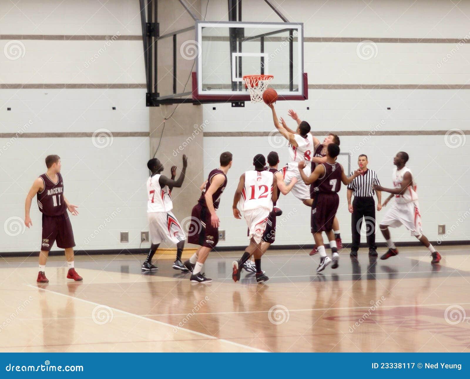 коллеж баскетбола