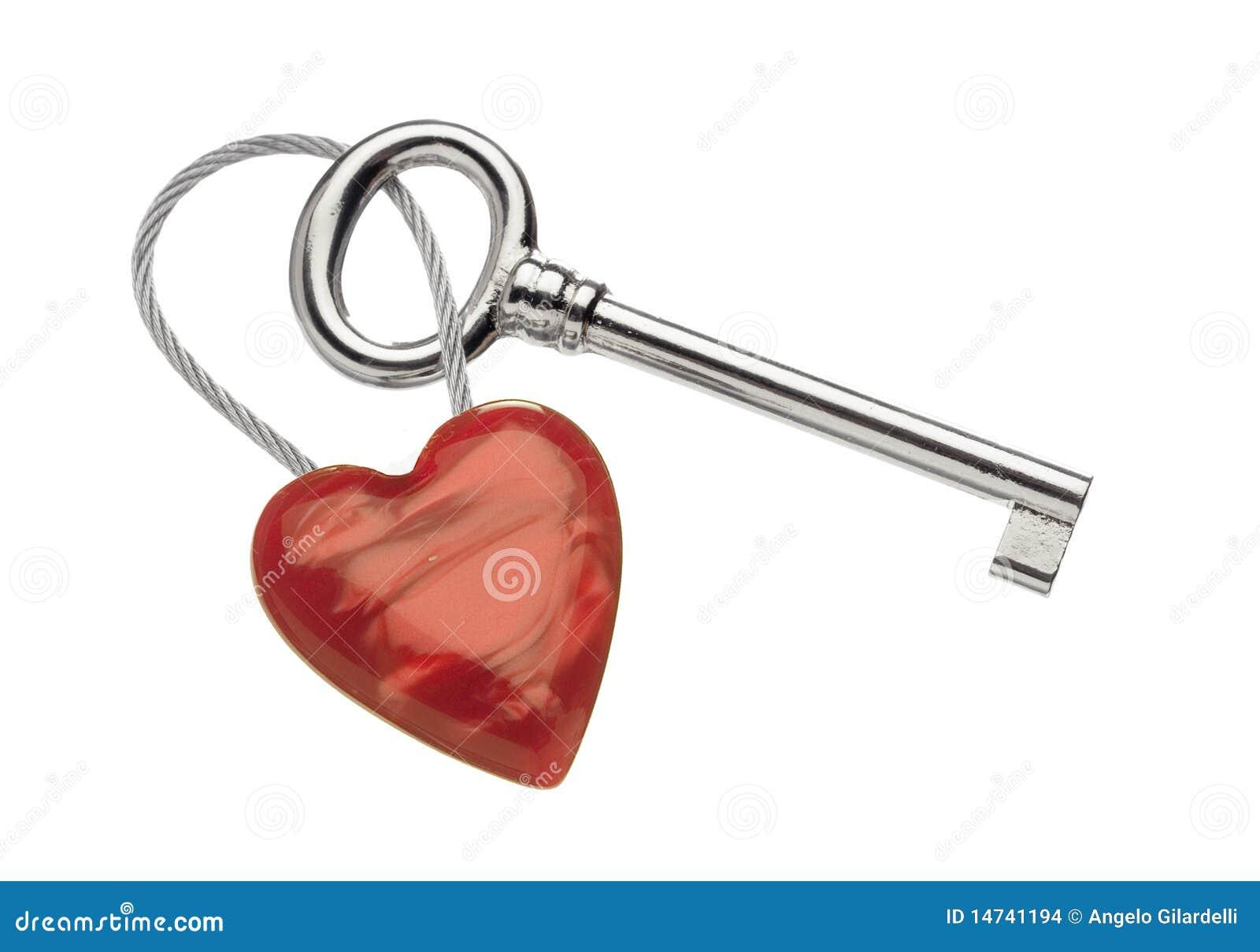 кольцо сердца ключевое