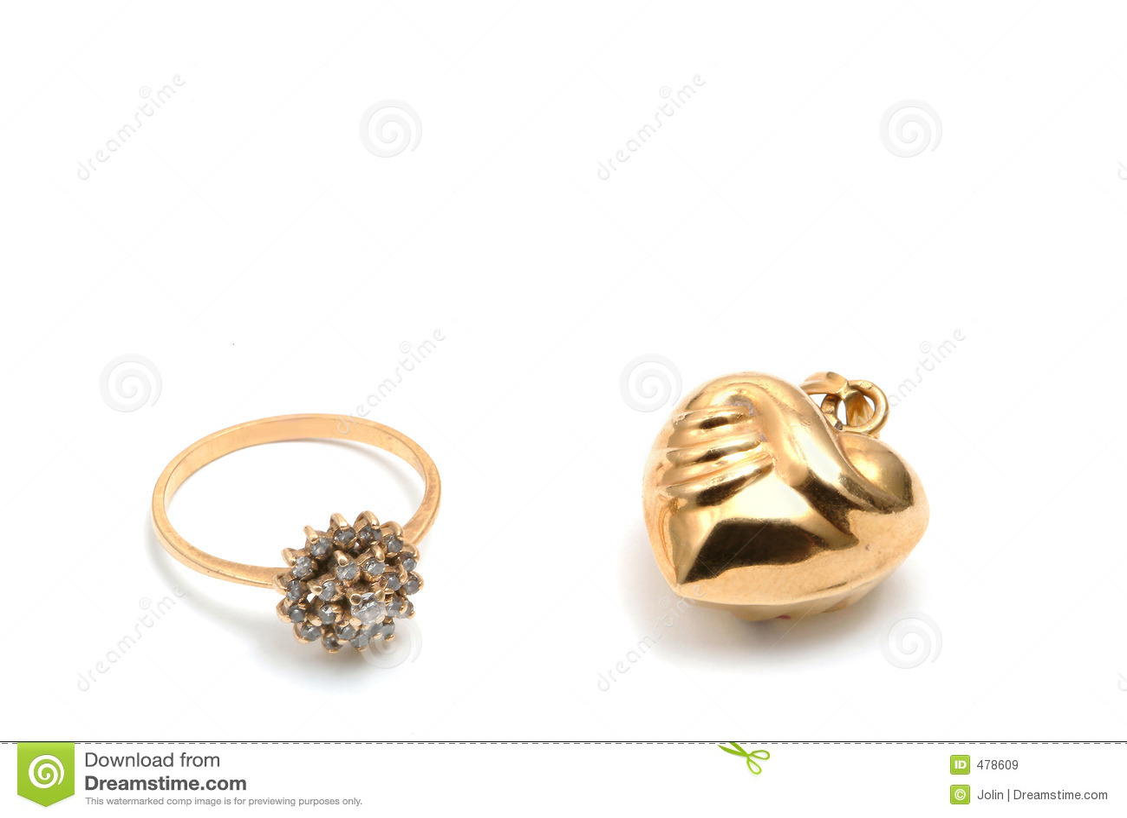 кольцо сердца