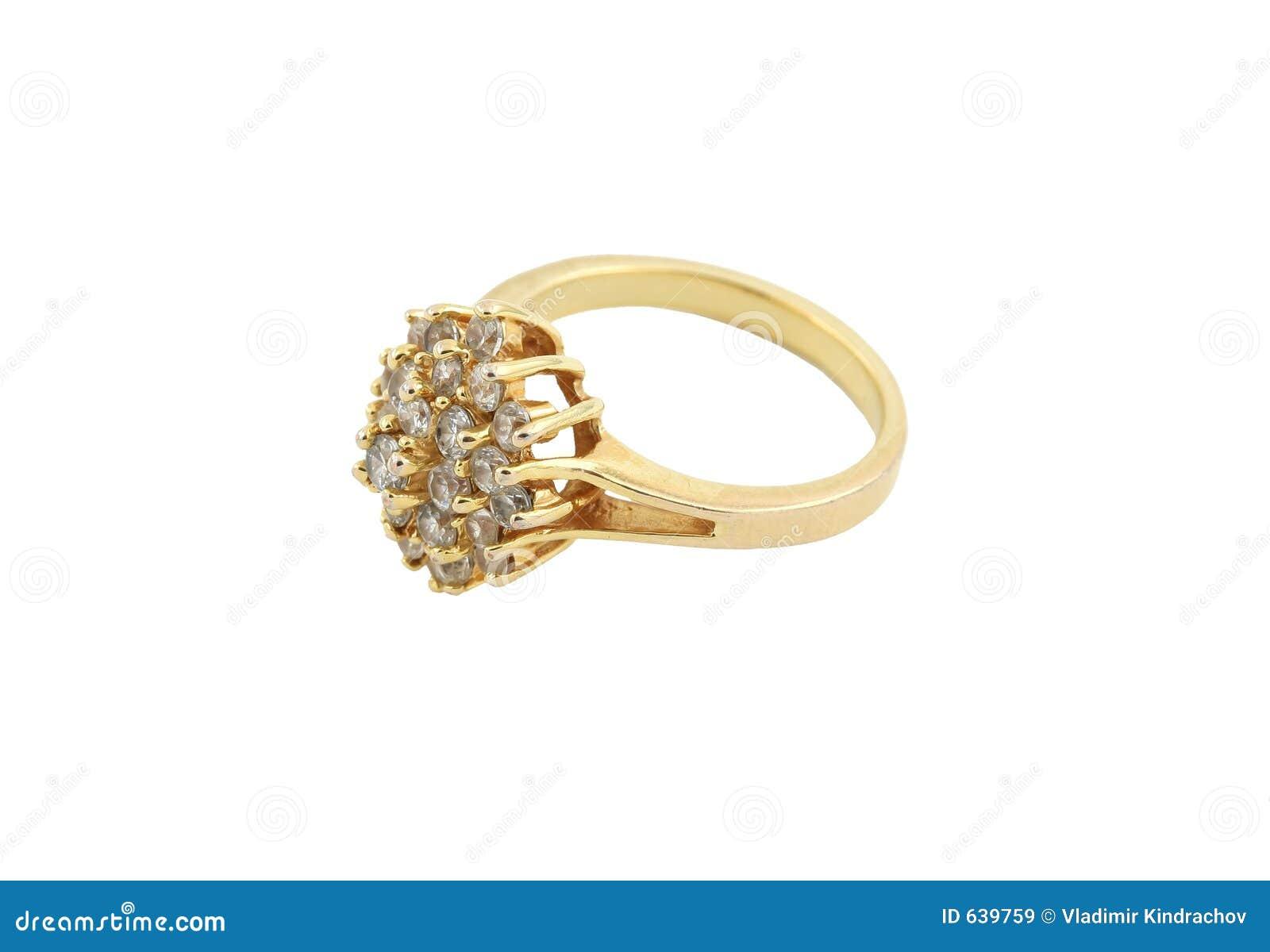 Download кольцо jewelery золота стоковое изображение. изображение насчитывающей роскошь - 639759