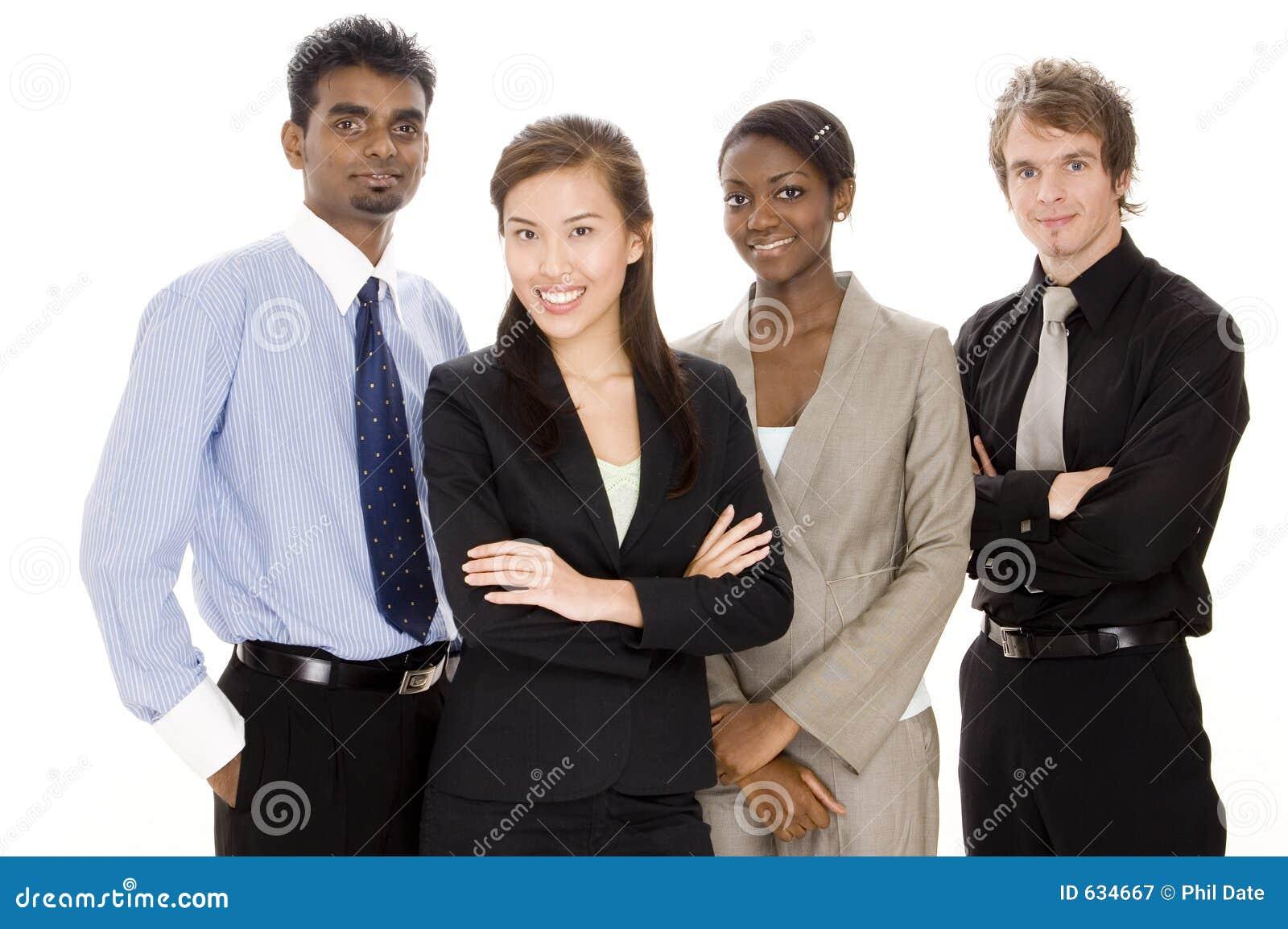 Download команда дела счастливая стоковое изображение. изображение насчитывающей черный - 634667