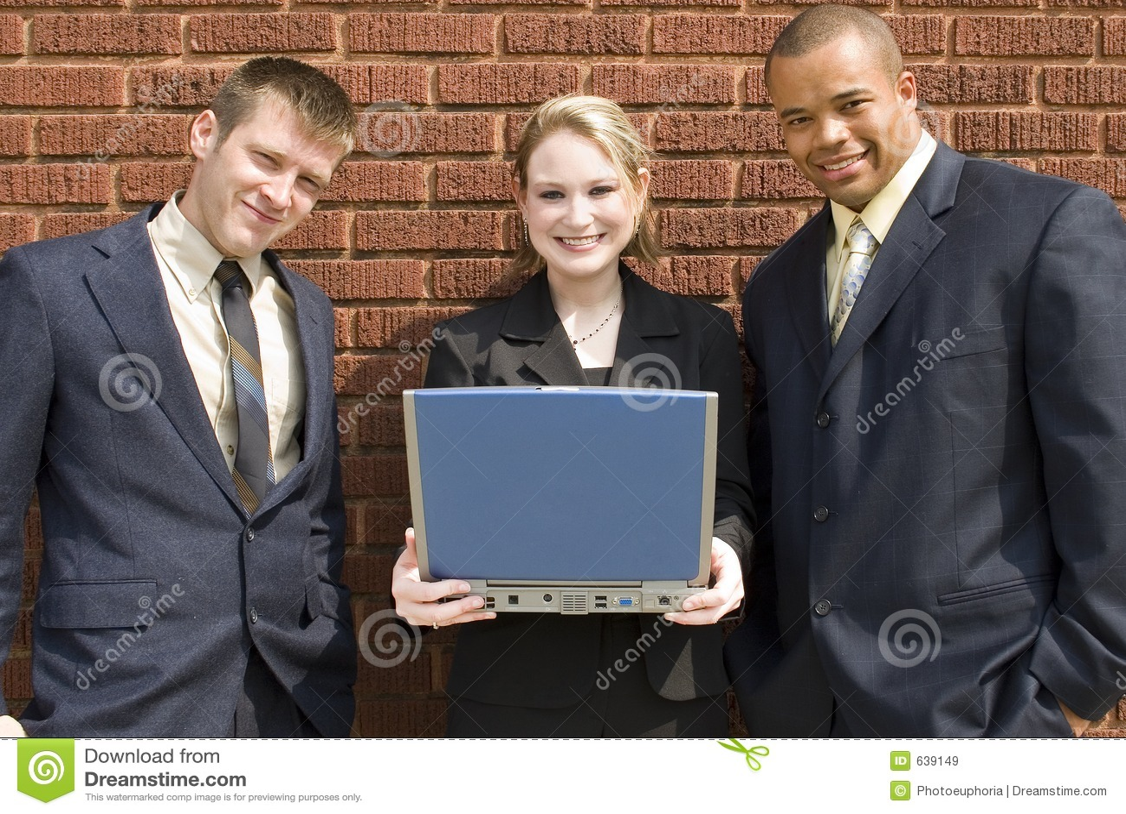 Download команда компьтер-книжки дела Стоковое Изображение - изображение насчитывающей команда, день: 639149