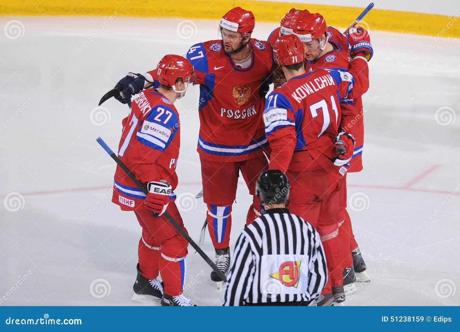 Команда хоккея на льде России команды