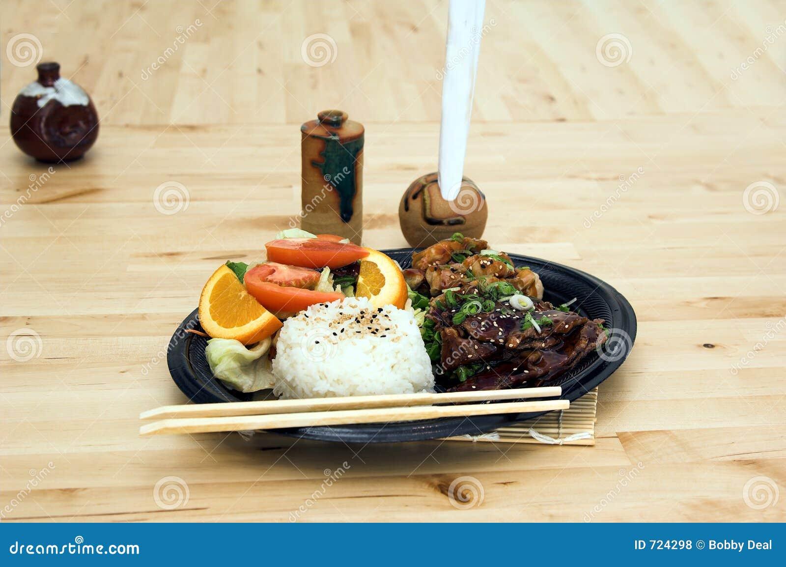 комбинированное teriyaki плиты