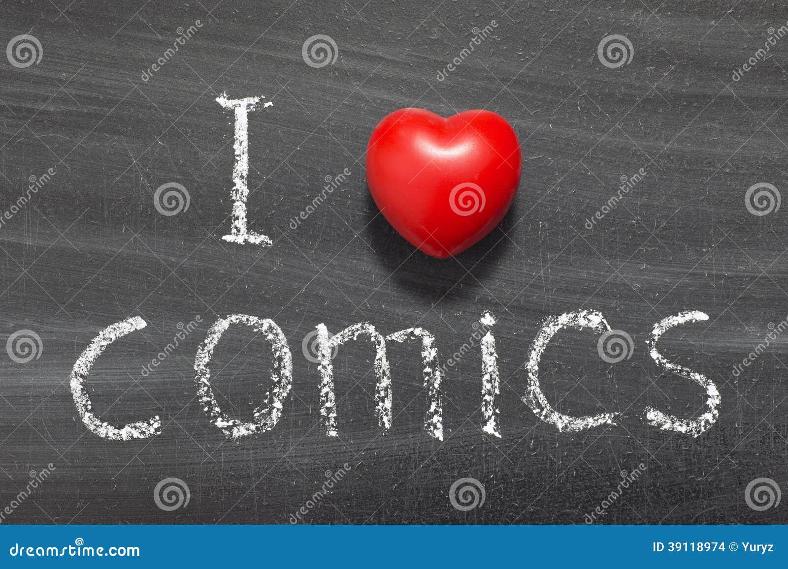 Комиксы влюбленности