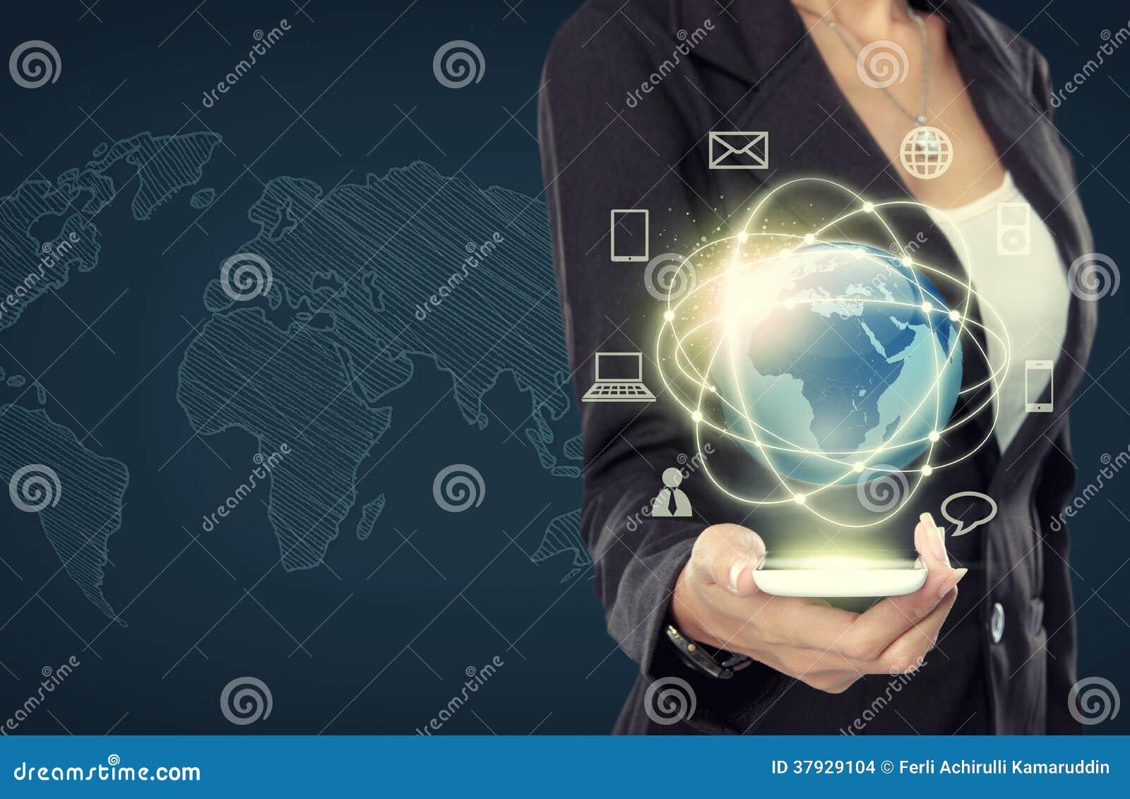 Коммерсантка с средствами массовой информации глобальной вычислительной сети