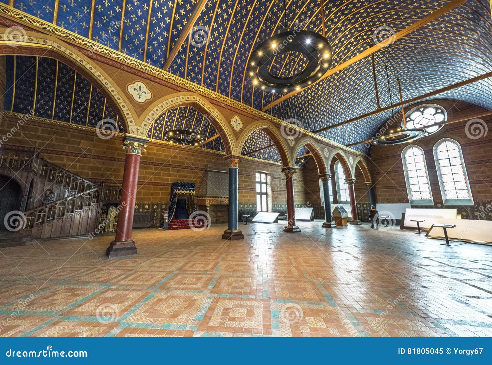 Комната имущества общая в замке Blois