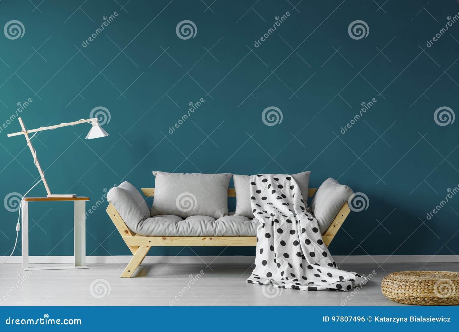 Комната покрашенная Teal живущая