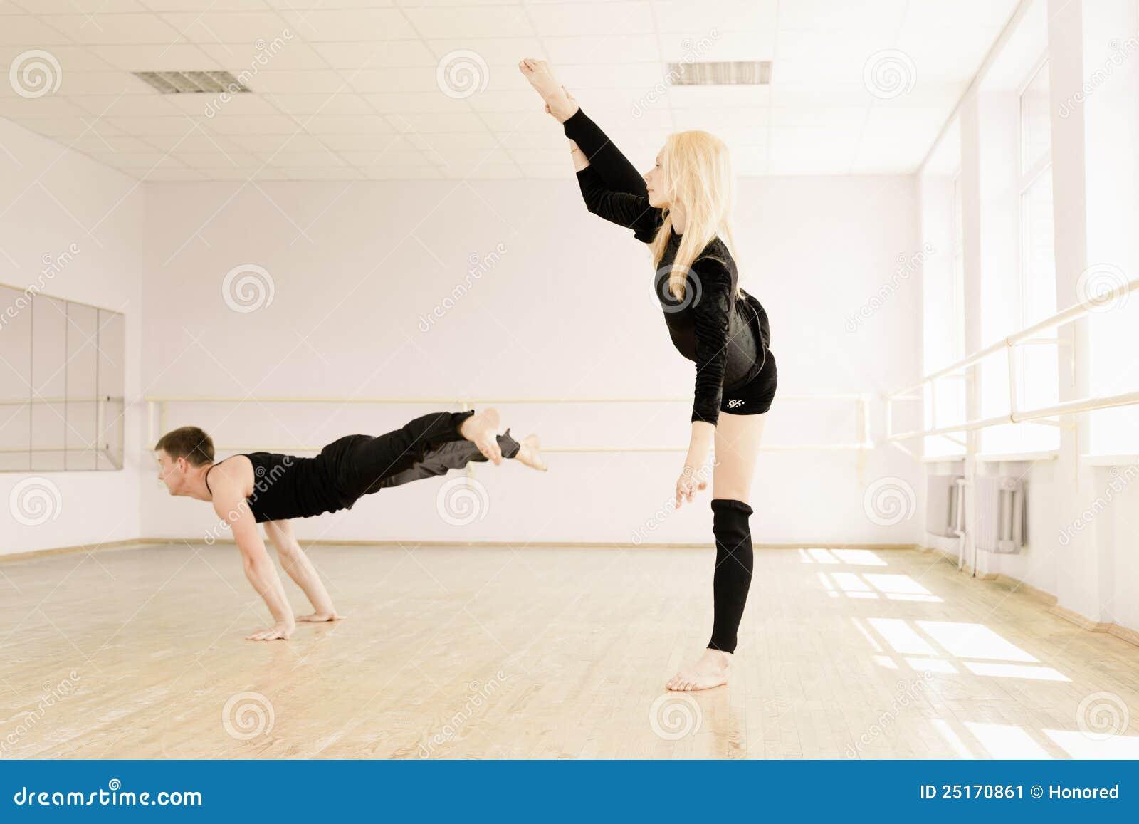 комната практики aerobics