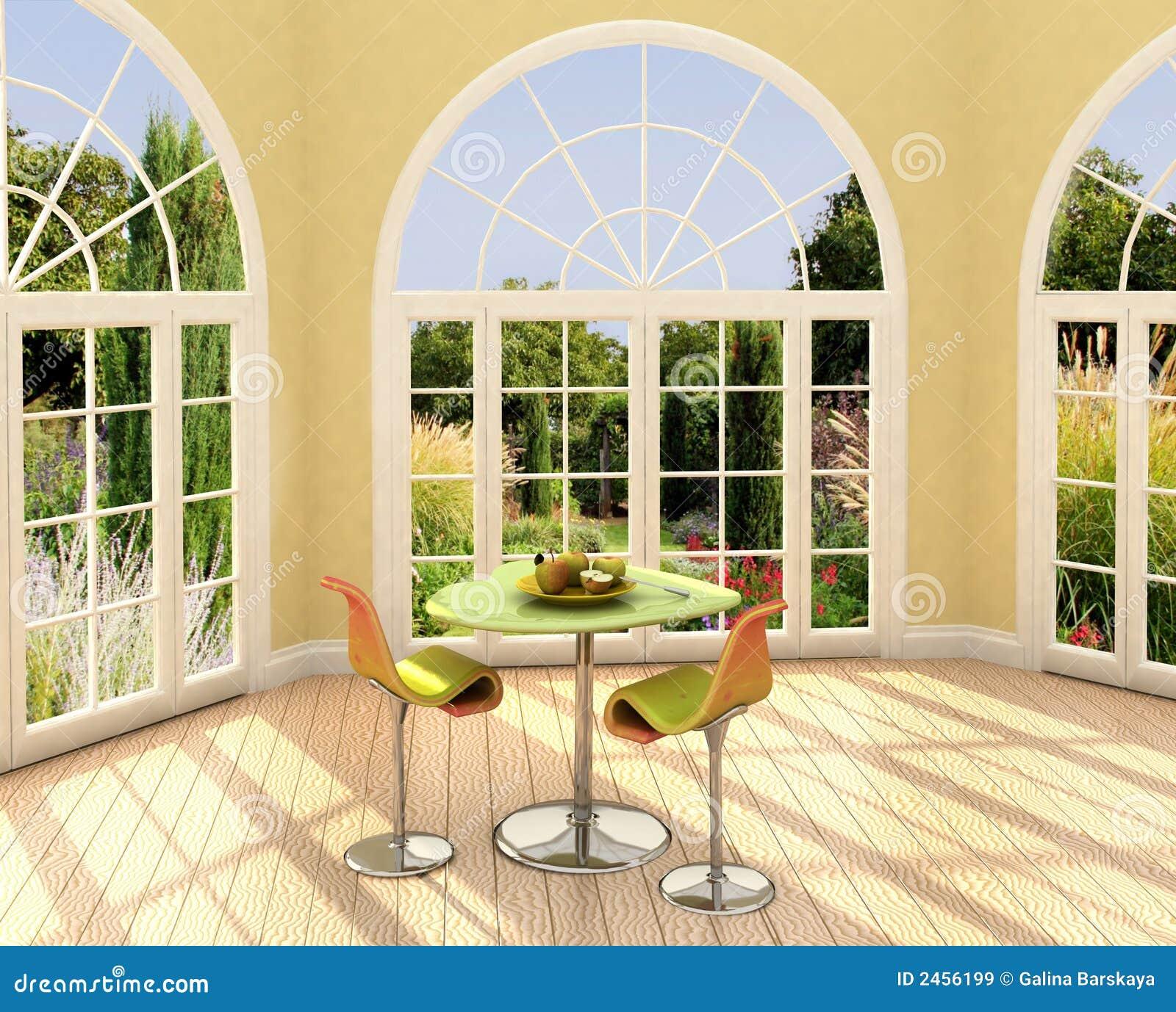 комната солнечная