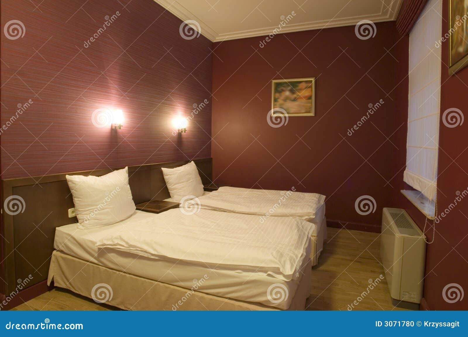 комната 2 кроватей самомоднейшая