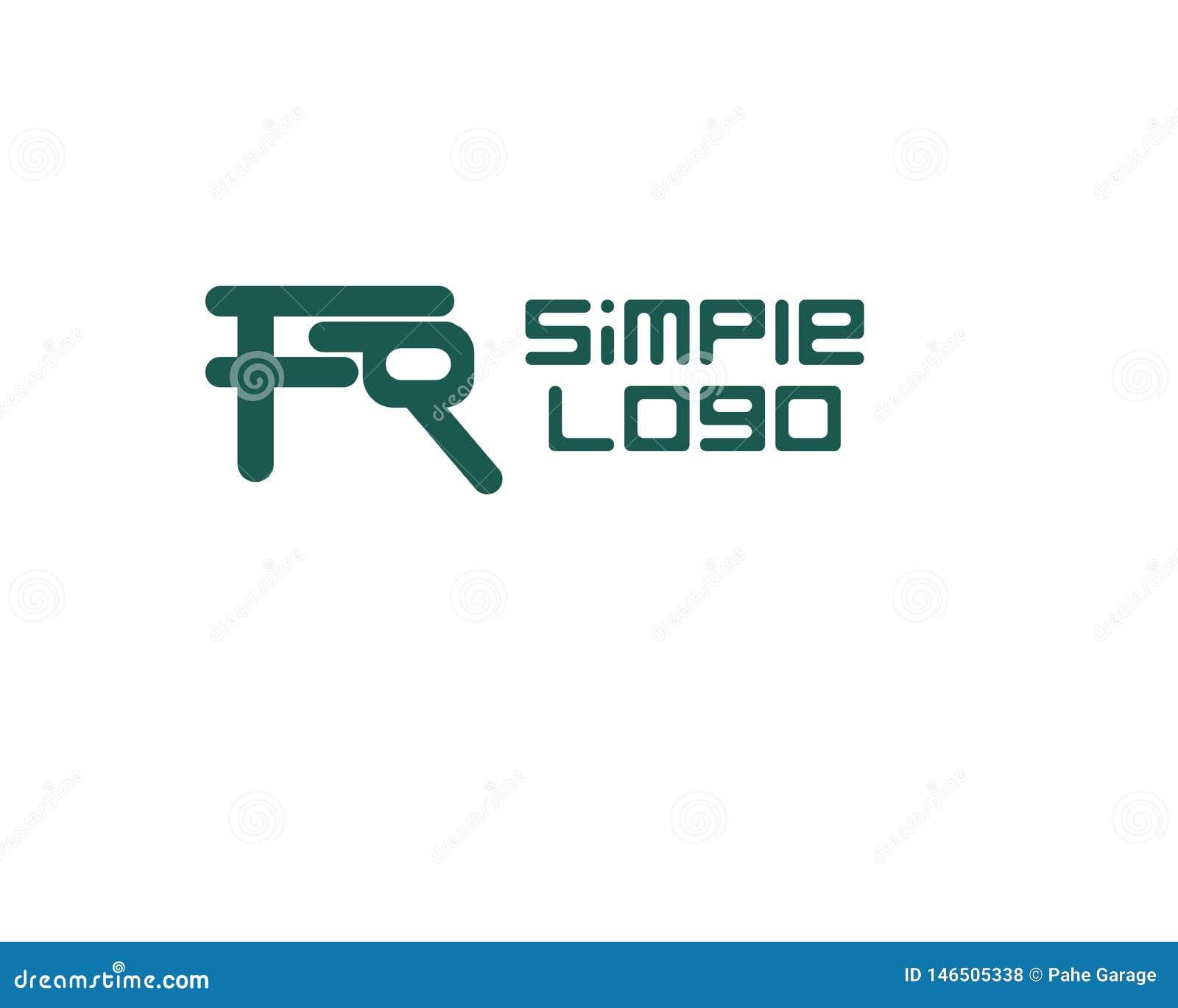Компания или дело простого логотипа иконическая