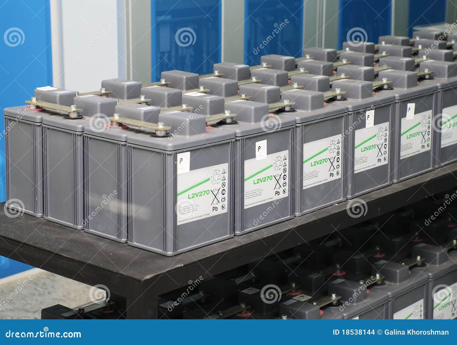 комплект батареи