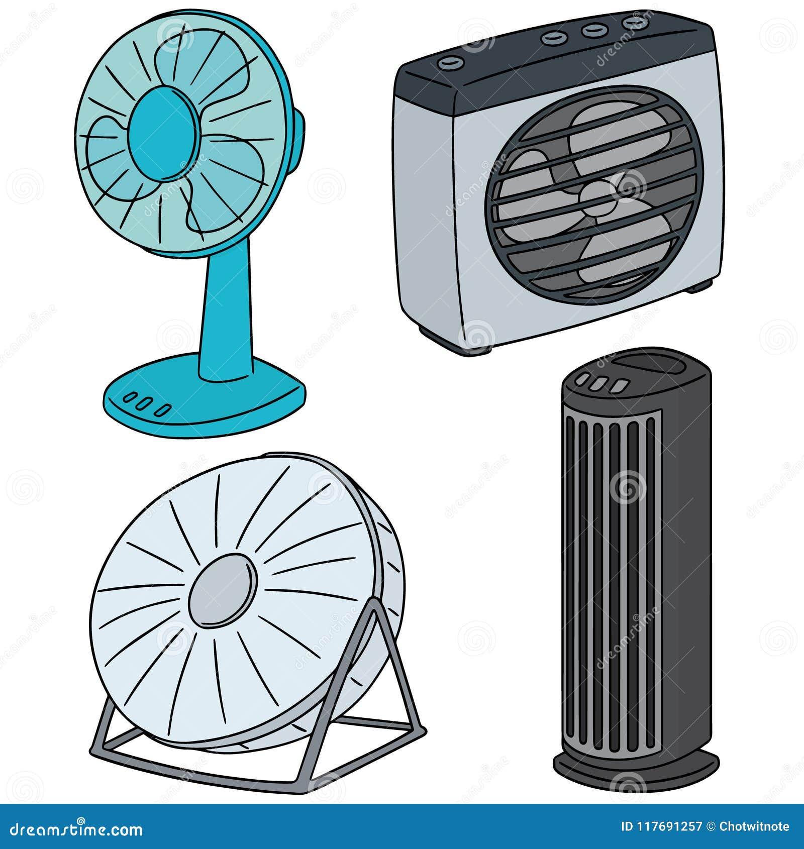 Комплект вектора вентилятора