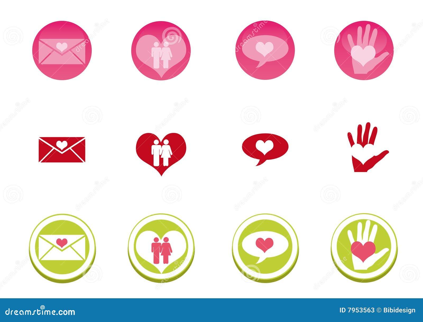 комплект влюбленности иконы
