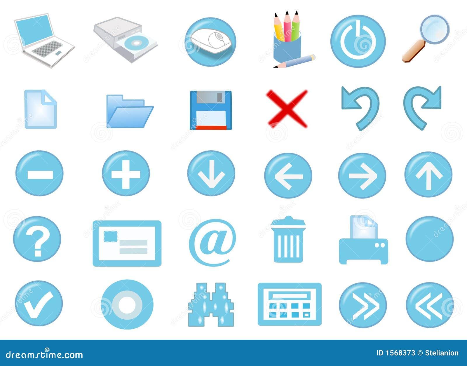 комплект иконы 3d