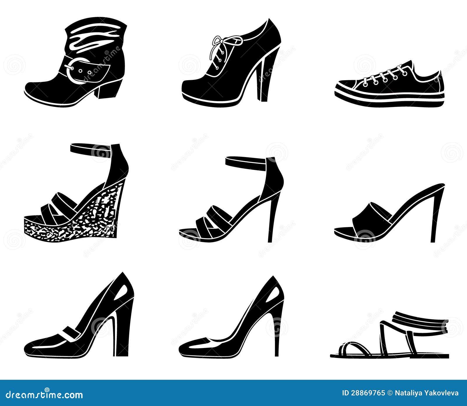Комплект икон womanish ботинка