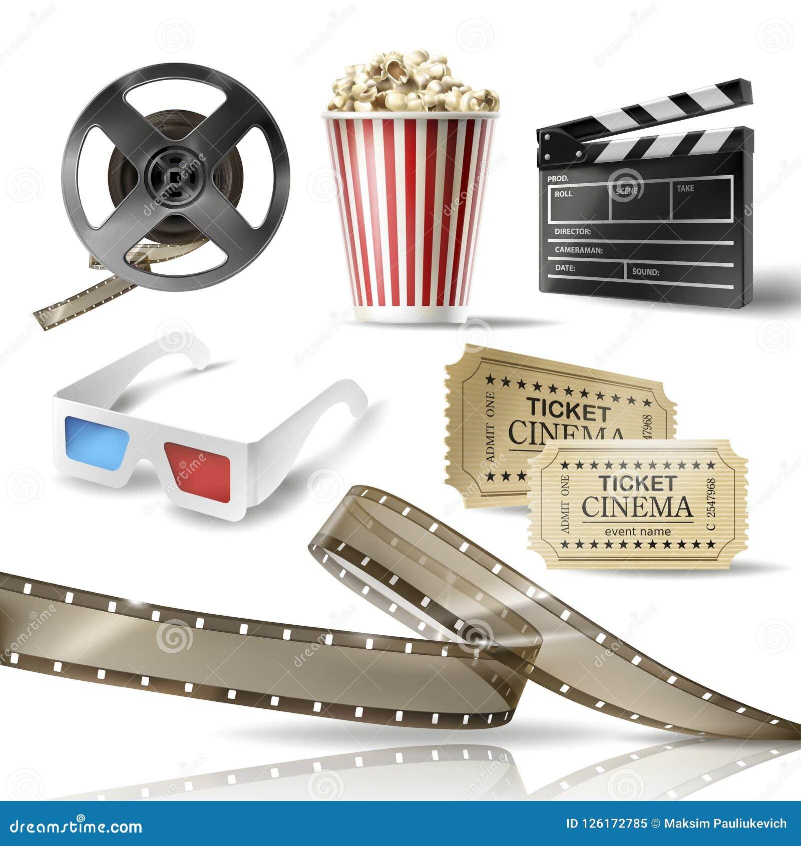 картинки с предметами кино